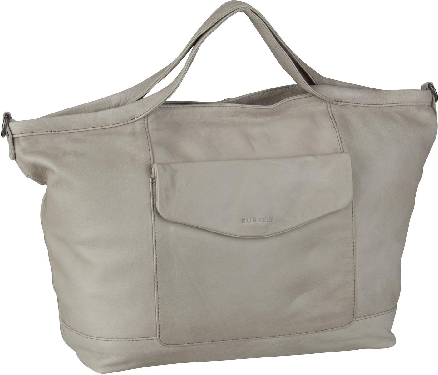 Burkely Handtasche Just Jackie Wide Shopper 2284 Light Grey