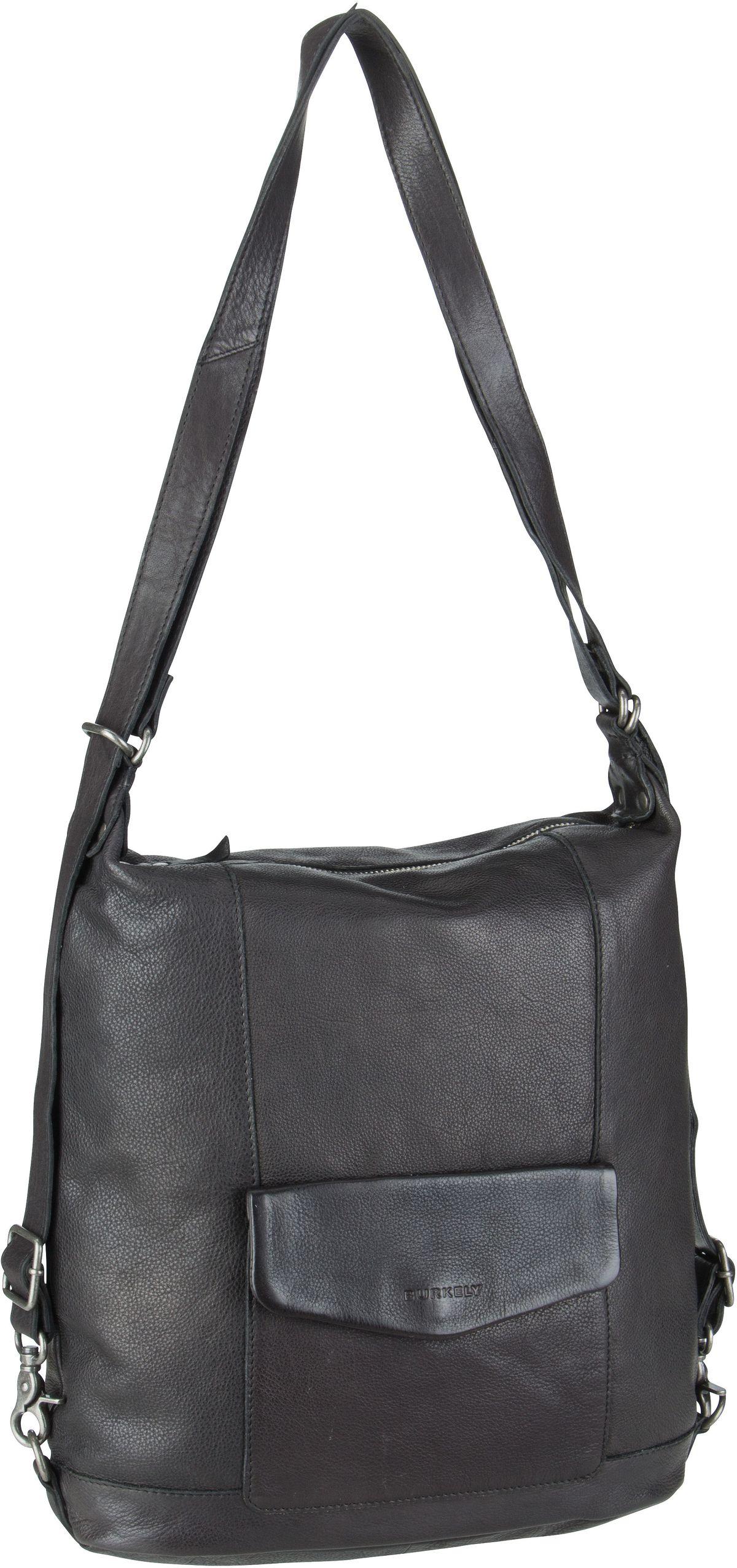 Burkely Handtasche Just Jackie Backpack 2584 Black