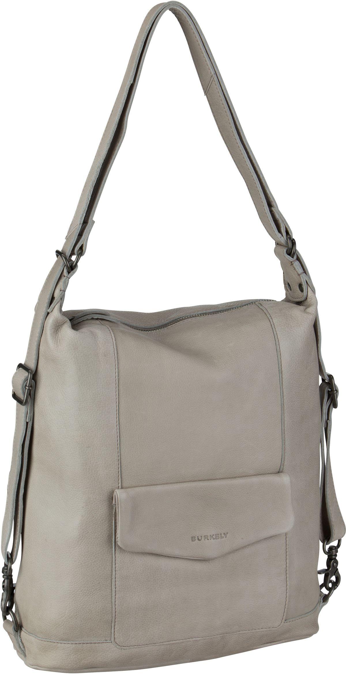 Burkely Handtasche Just Jackie Backpack 2584 Light Grey