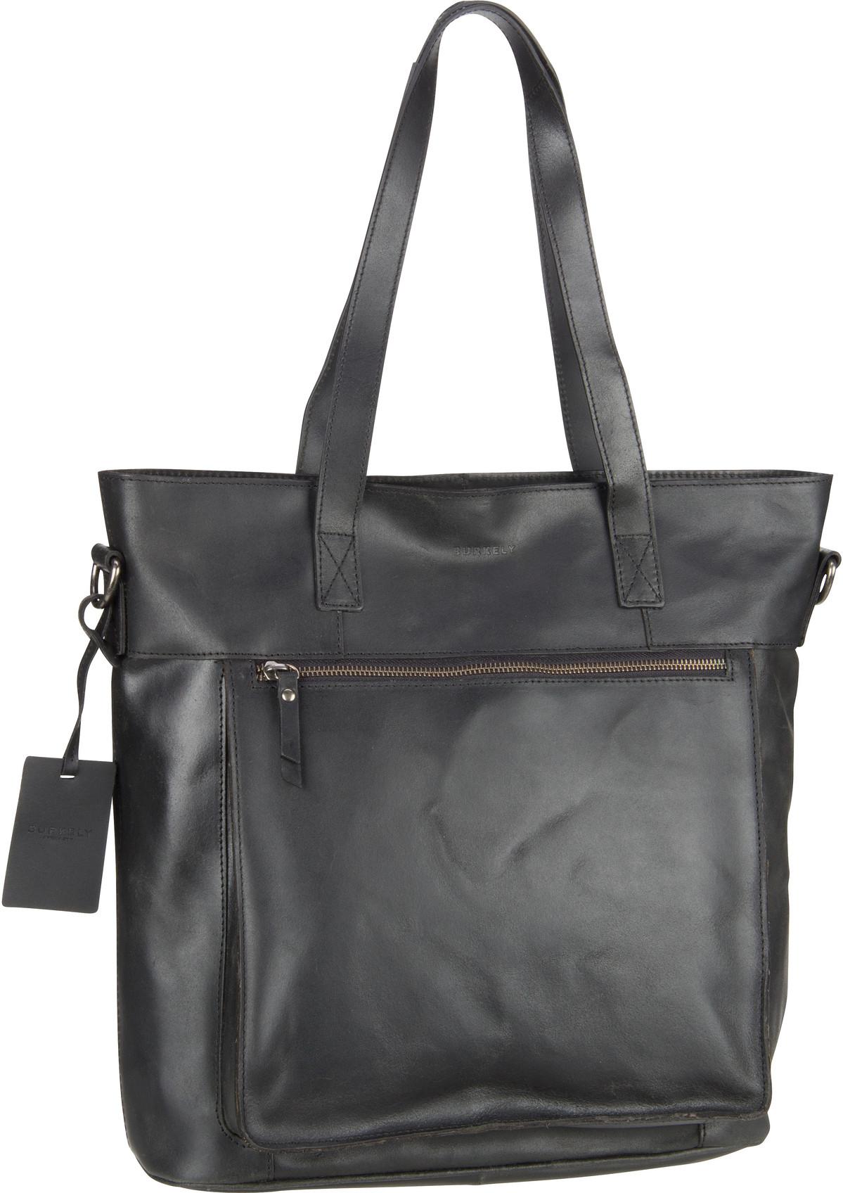 burkely -  Handtasche Vintage Jade Shopper 7003 Black