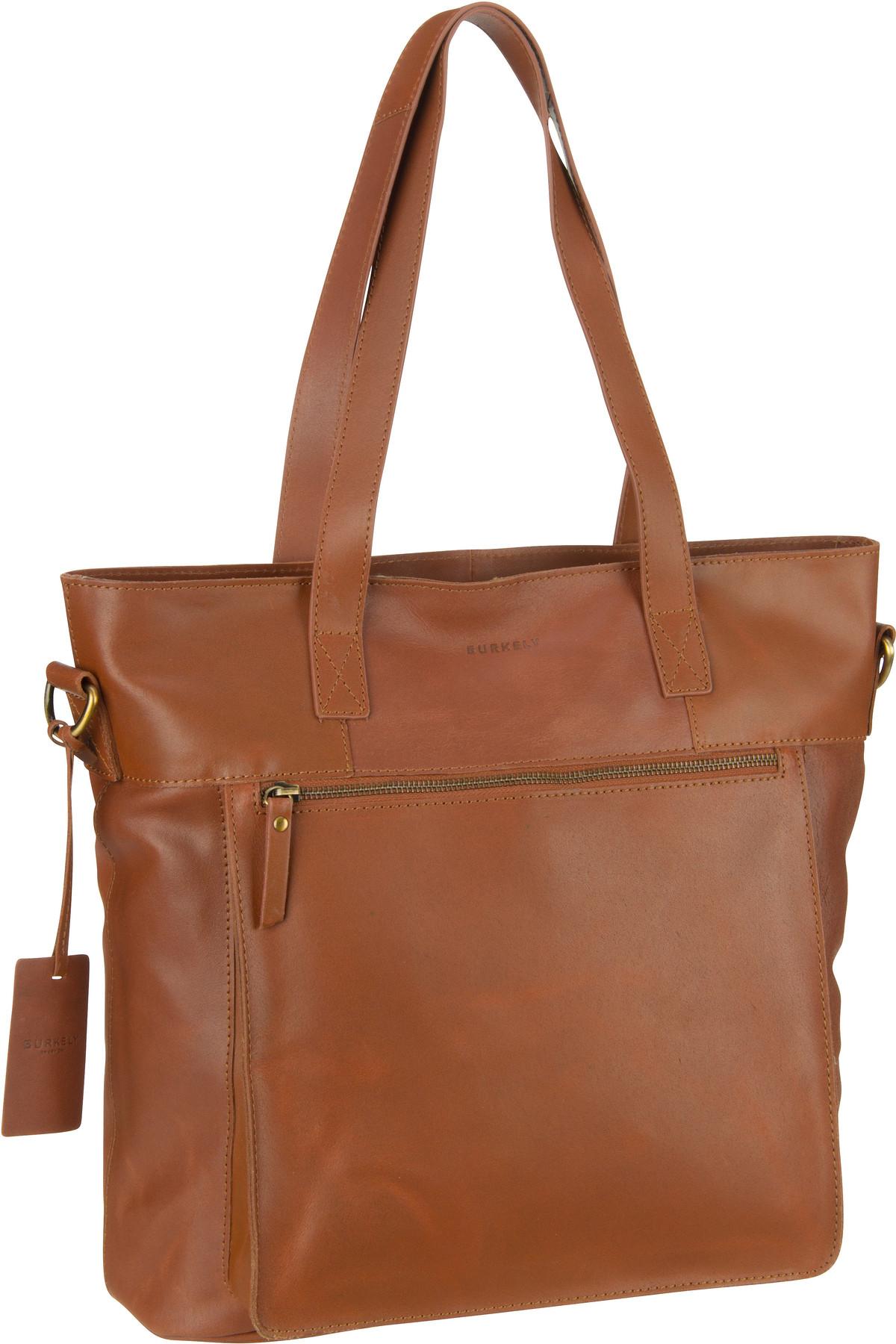 burkely -  Handtasche Vintage Jade Shopper 7003 Cognac