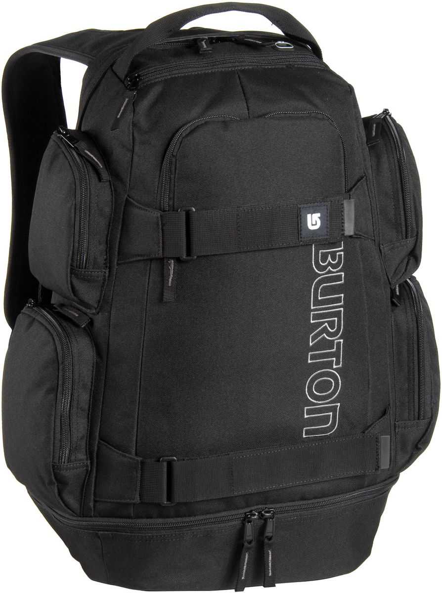 Laptoprucksack Classic Distortion Pack True Black (29 Liter)