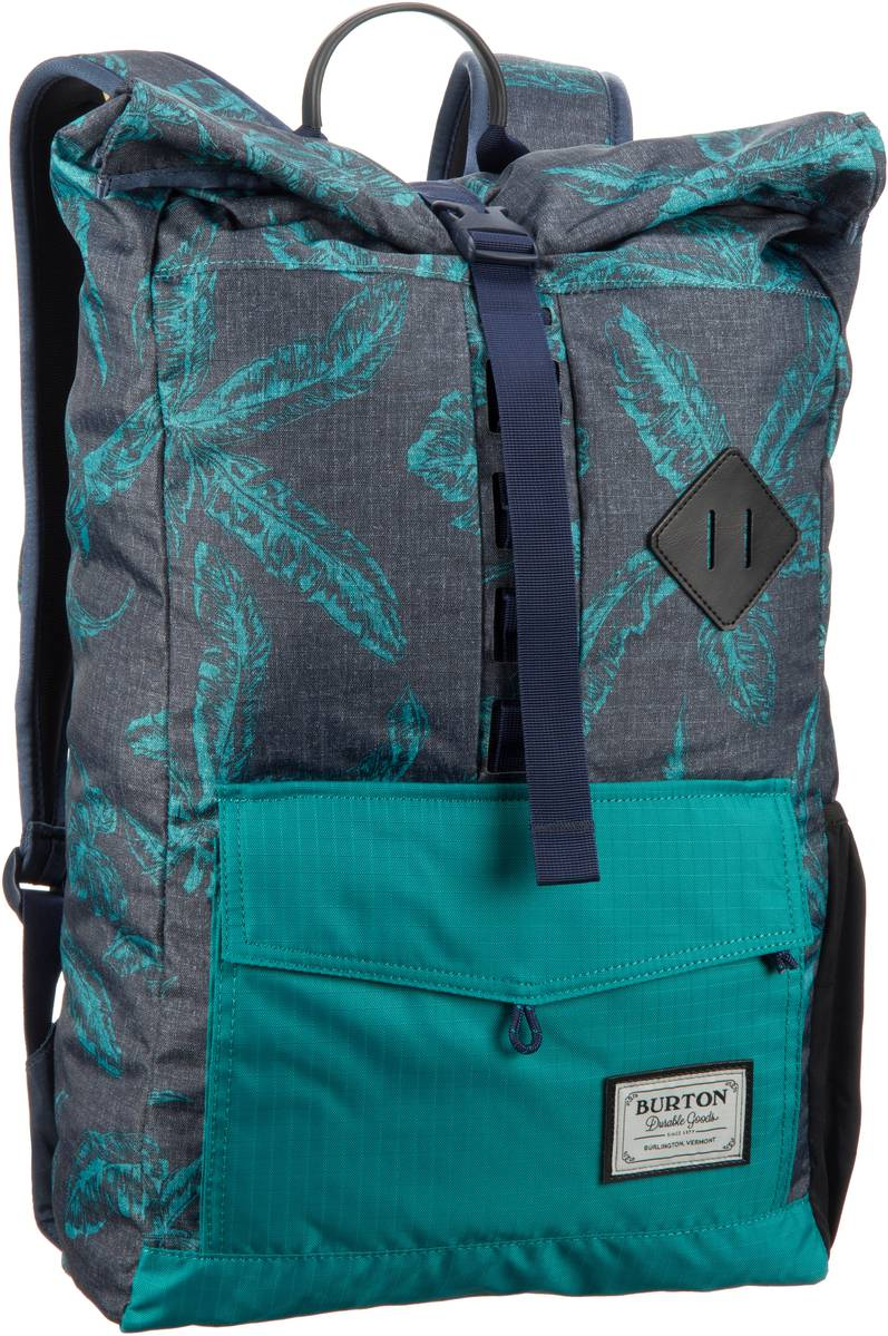 Burton Export Pack Tropical Print - Laptoprucksack - broschei