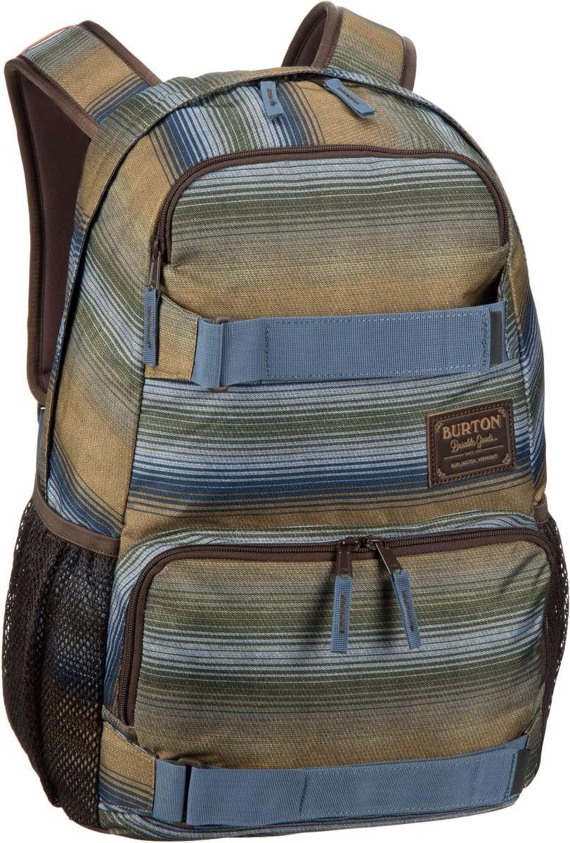 Burton Treble Yell Pack Beach Stripe Print - Laptoprucksack jetztbilligerkaufen