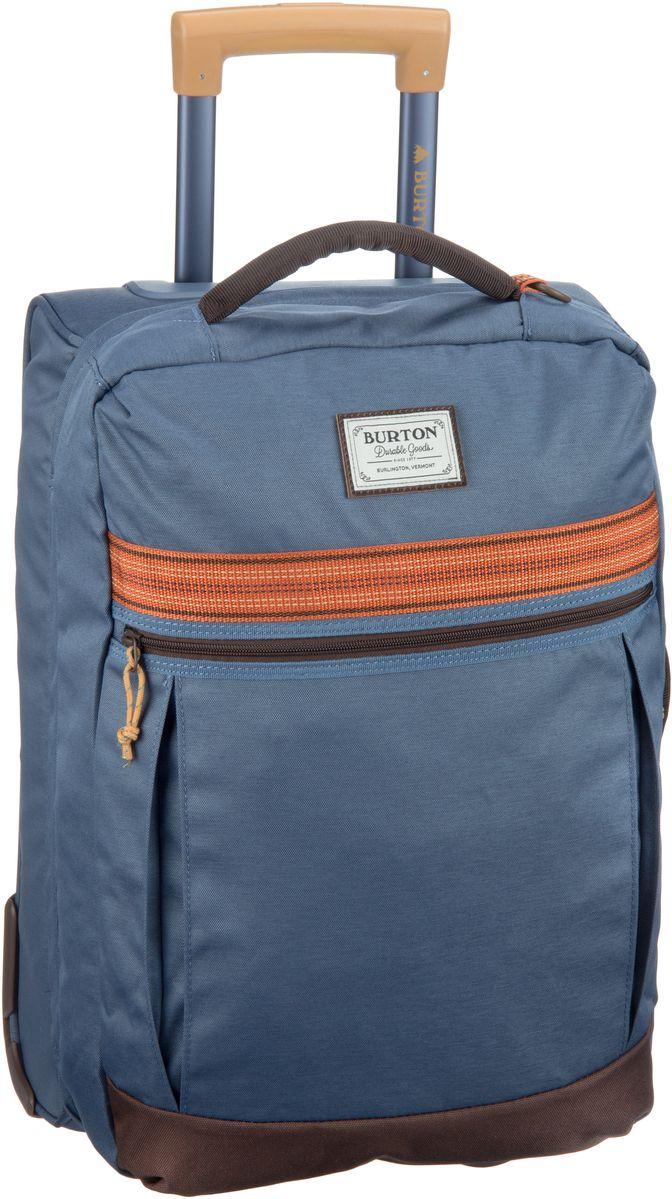 Burton Overnighter Roller Washed Blue - Trolley + Koffer - broschei
