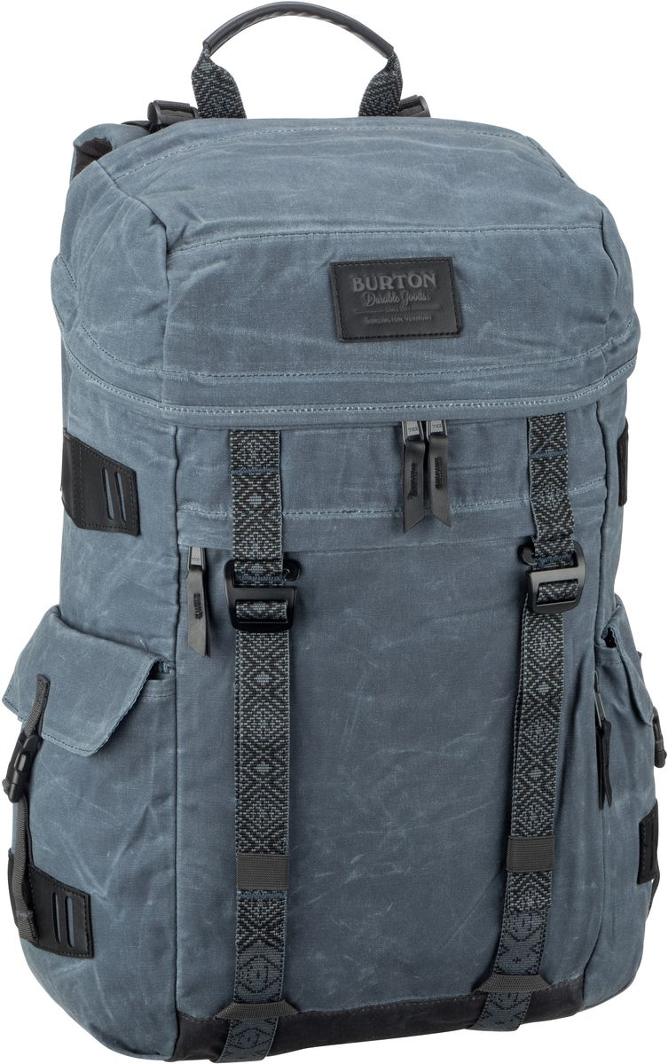 Laptoprucksack Annex Pack Waxed Canvas Dark Slate Waxed Canvas (28 Liter)