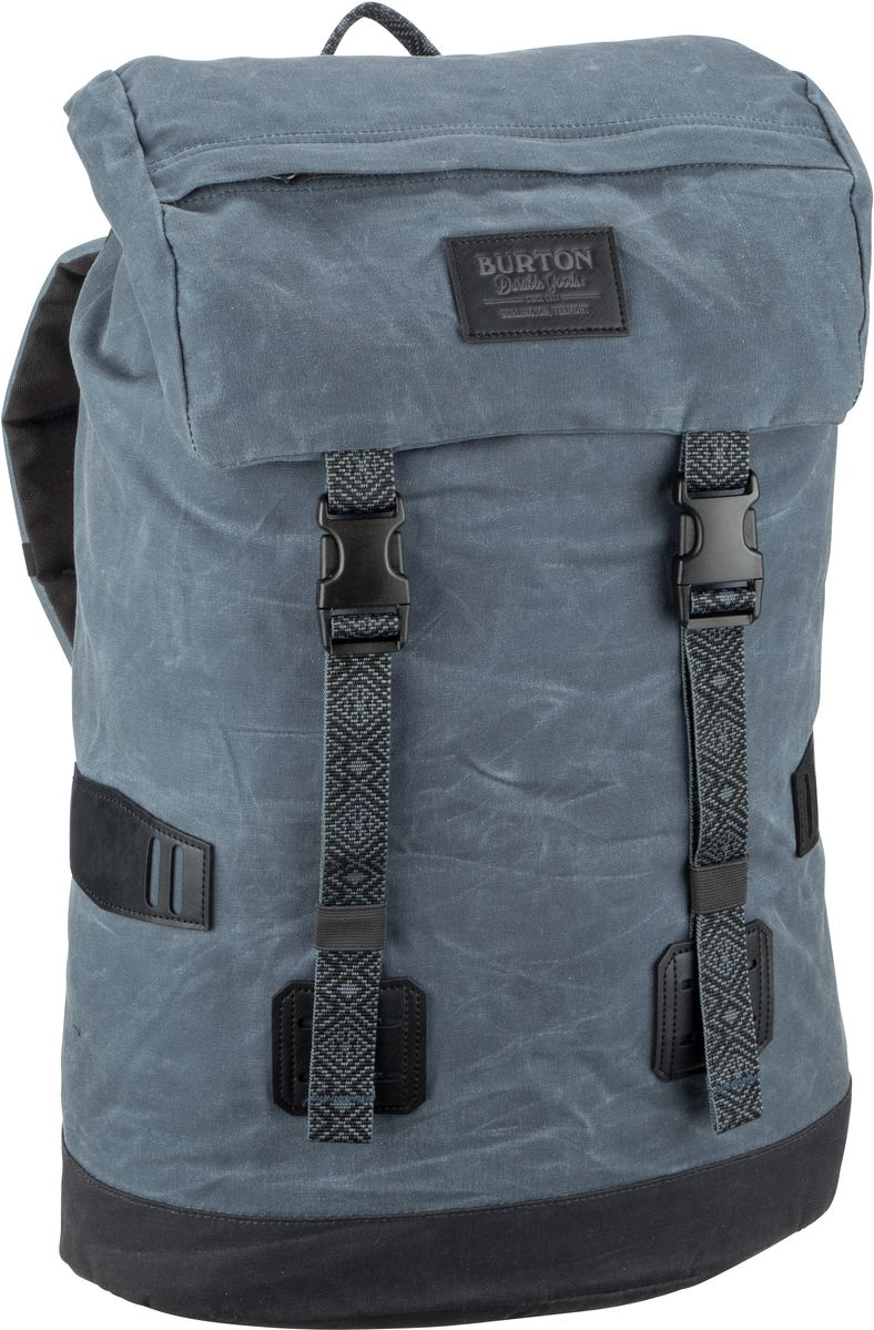Laptoprucksack Tinder Pack Waxed Canvas Dark Slate Waxed Canvas (25 Liter)