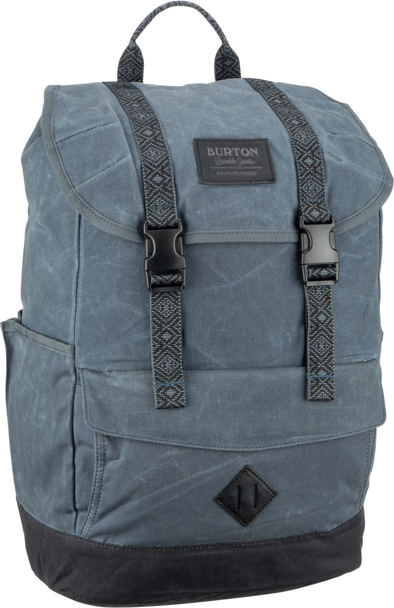 Laptoprucksack Outing Pack Waxed Canvas Dark Slate Waxed Canvas (23 Liter)