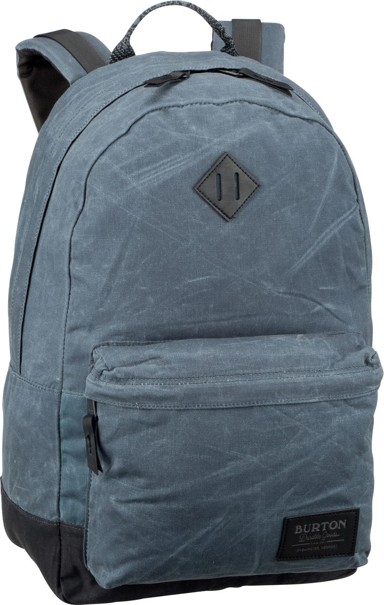 Rucksack / Daypack Kettle Pack Waxed Canvas Dark Slate Waxed Canvas (20 Liter)