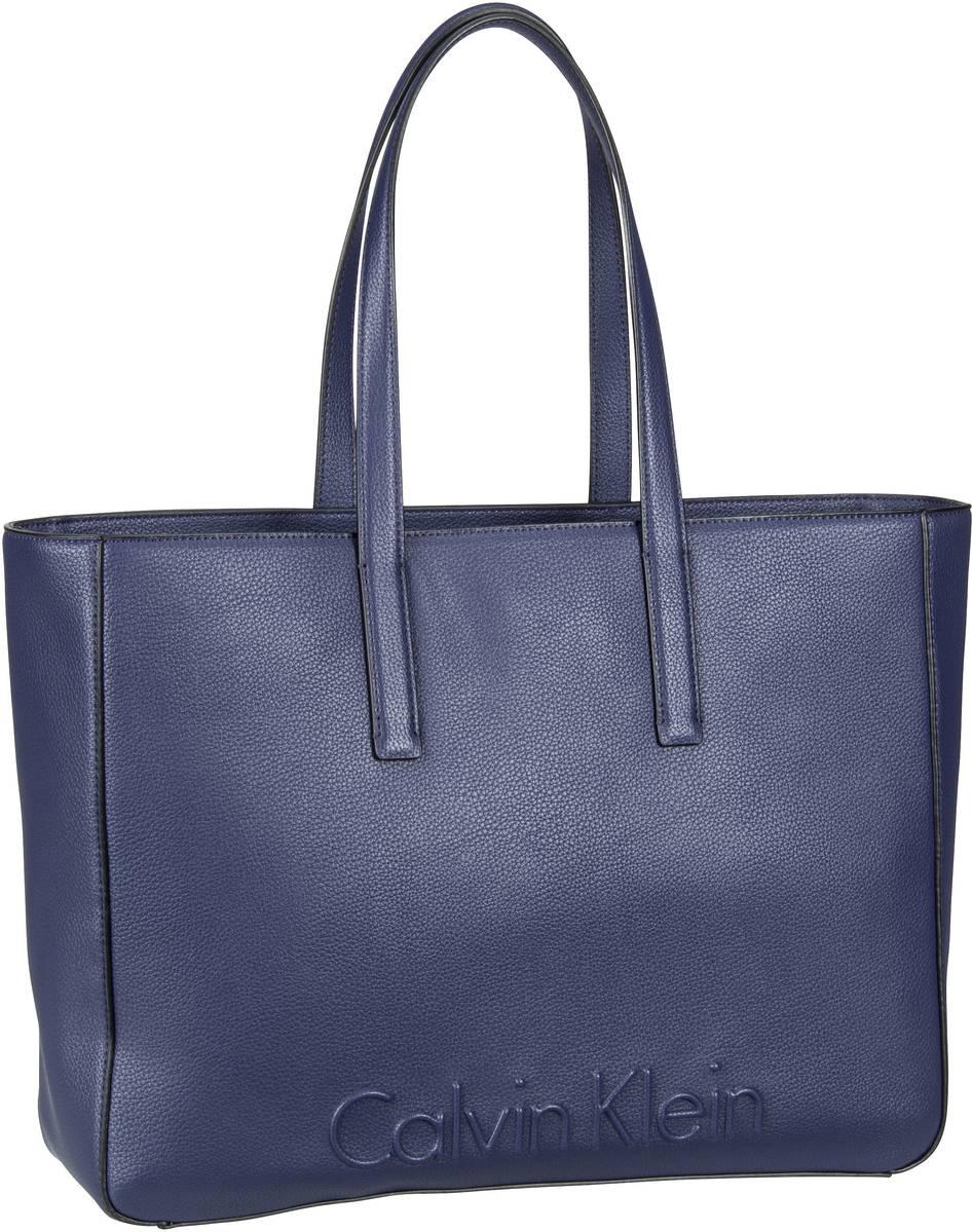 Handtasche Edge Large Shopper Navy