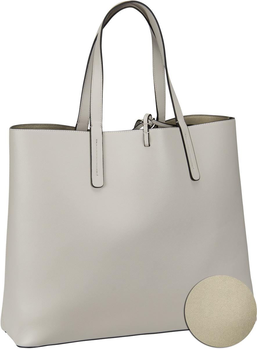 Shopper CK Reversible Shopper Cement/Light Gold (innen: Beige)