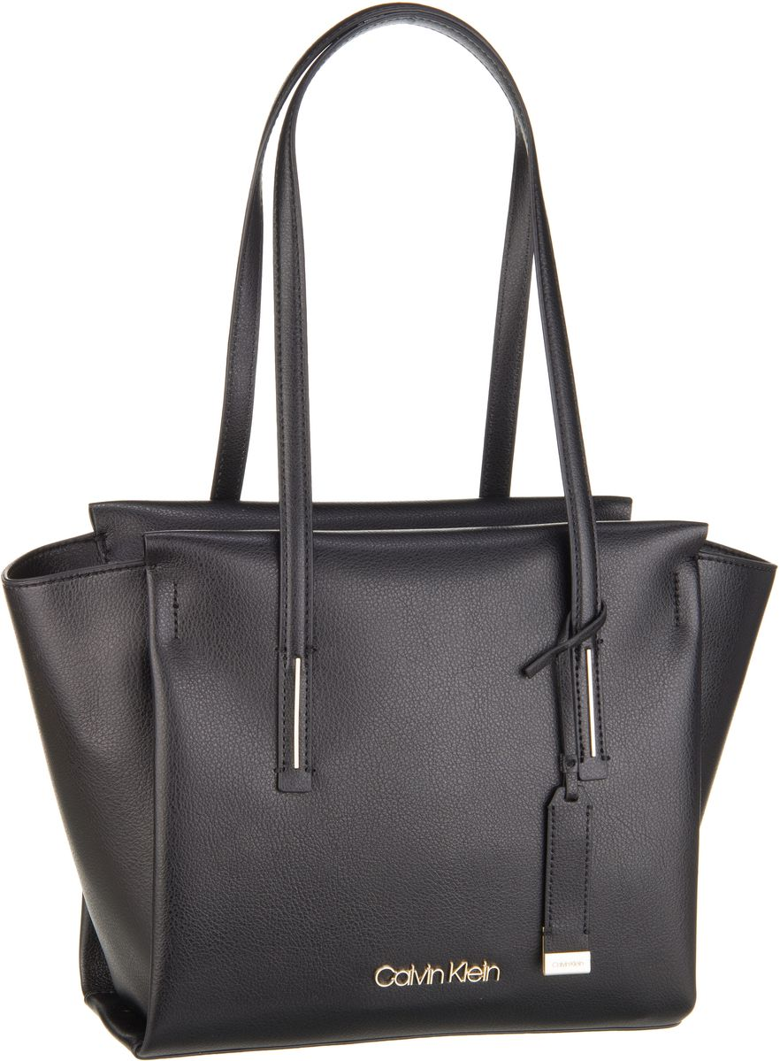 Handtaschen für Frauen - Calvin Klein Handtasche Frame Medium Shopper Black  - Onlineshop Taschenkaufhaus