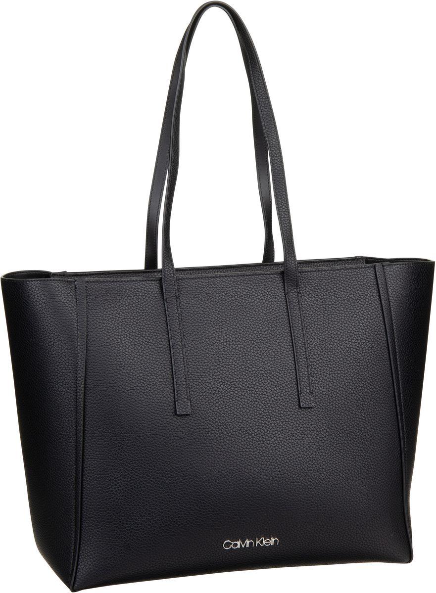 Handtasche CK Base Large Shopper Black