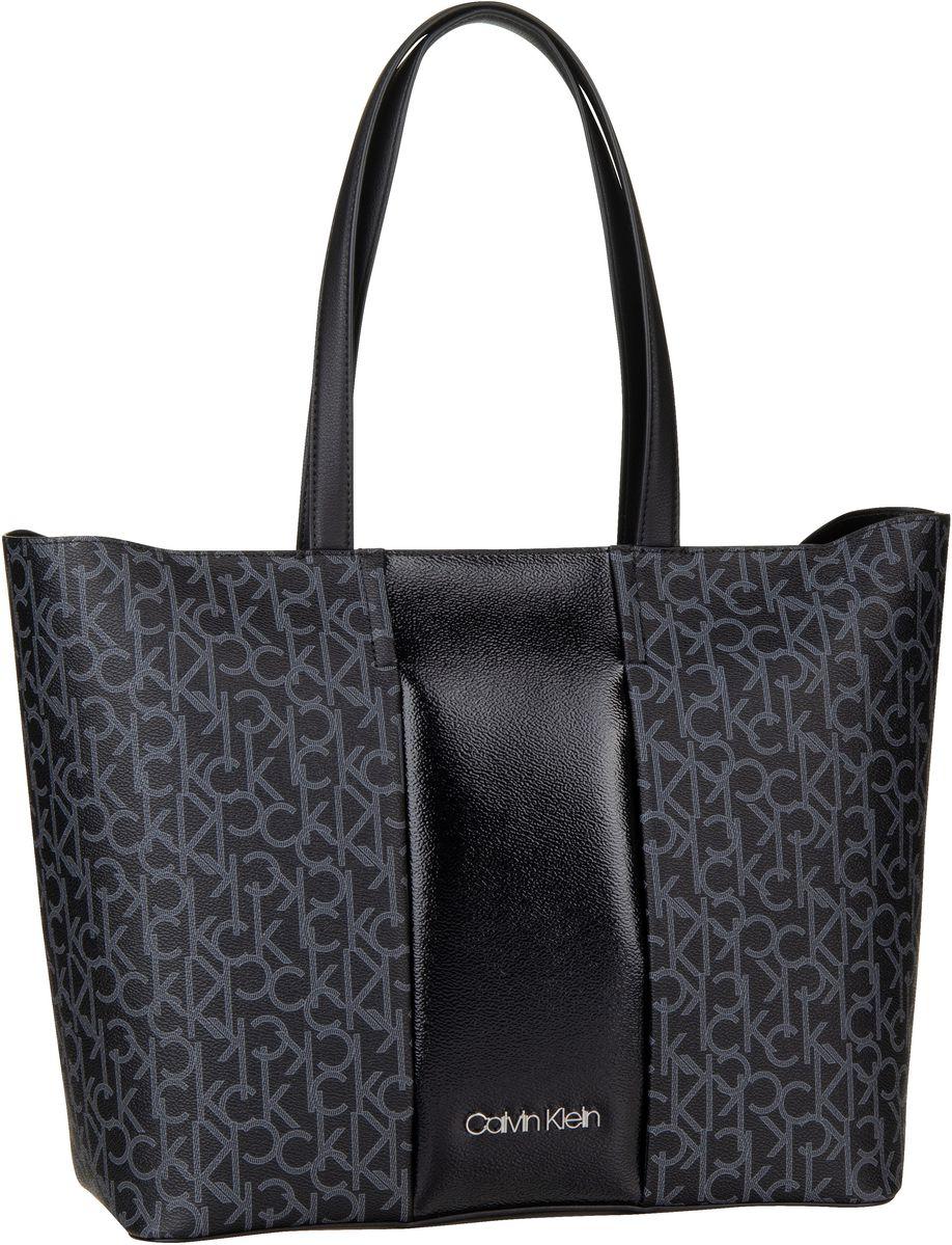 Handtasche Mono Block Shopper Black Mono/Black