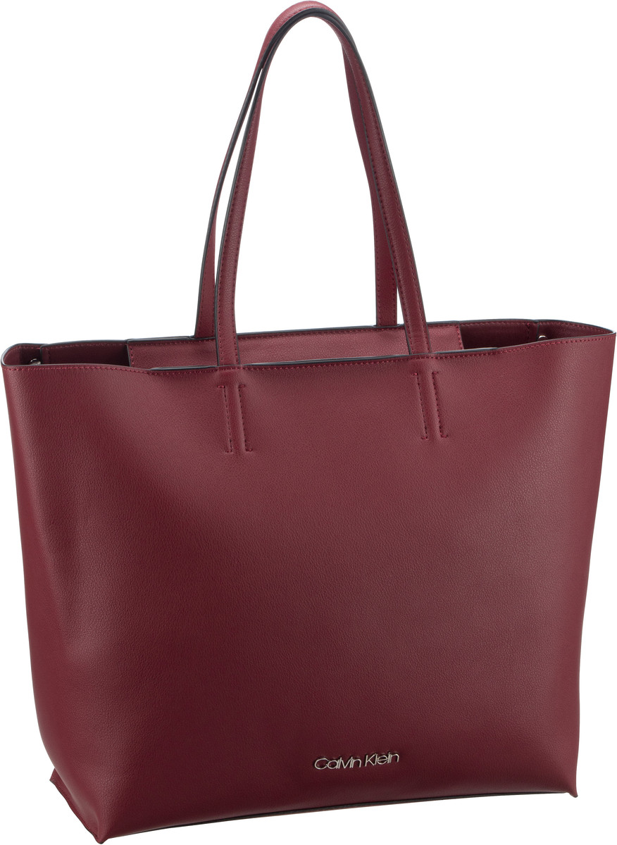 Calvin Klein Shopper Tack Shopper Bordeaux