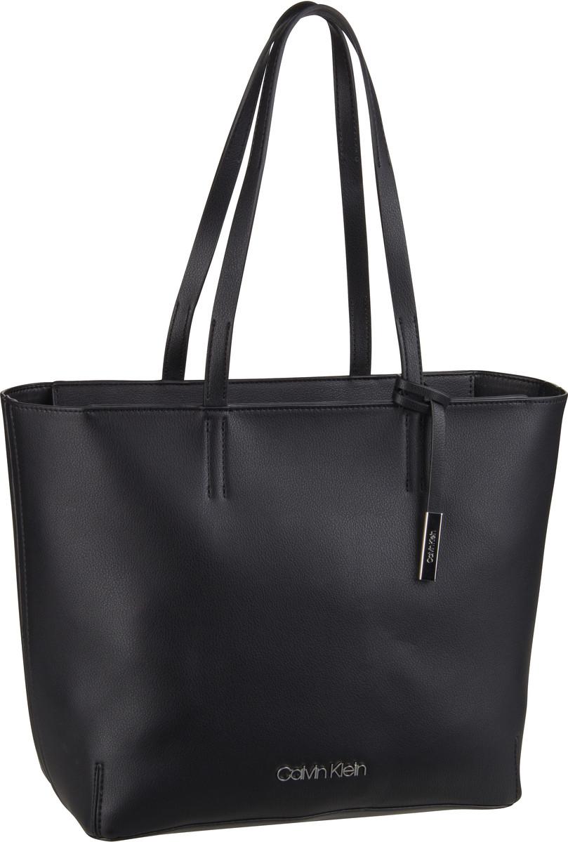 Handtasche Stitch EW Shopper Black