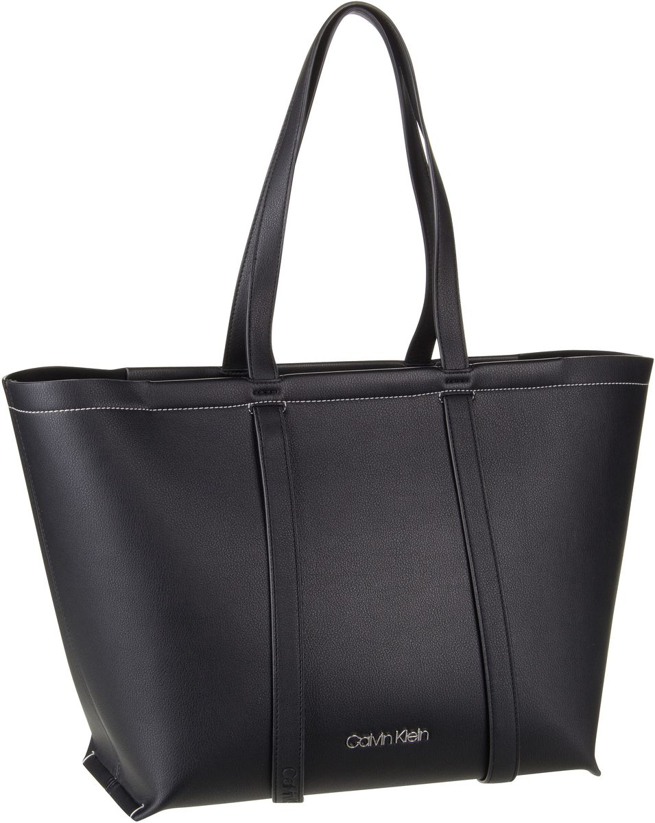 Handtasche Slide Shopper Black