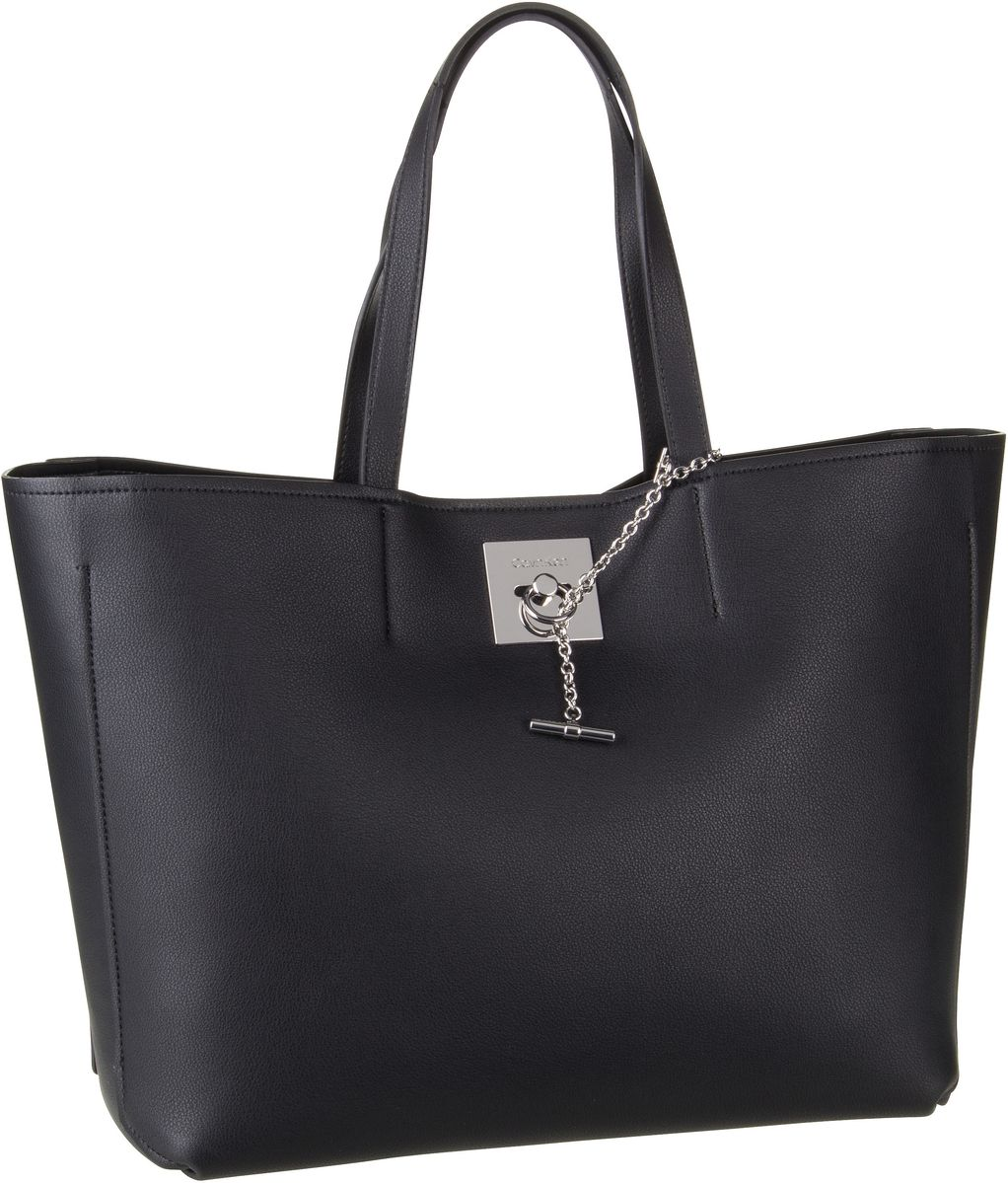Handtasche CK Lock Shopper Black
