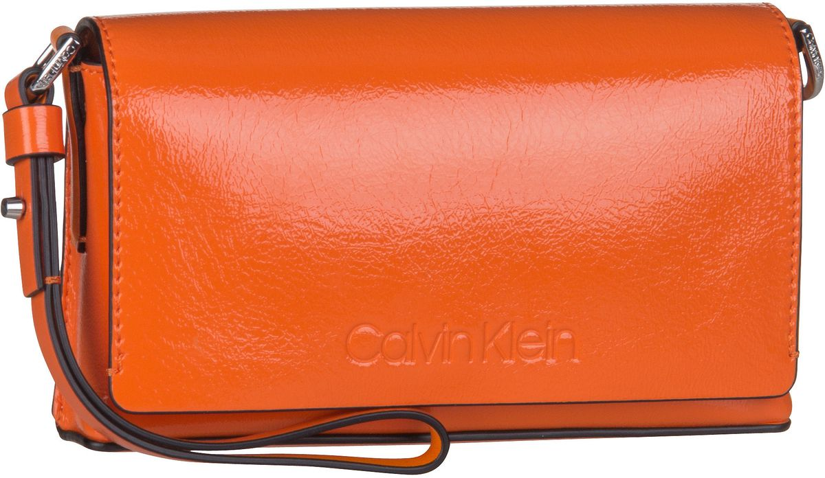 Handtasche Dressed Up Pouch On Chain Orange Peel
