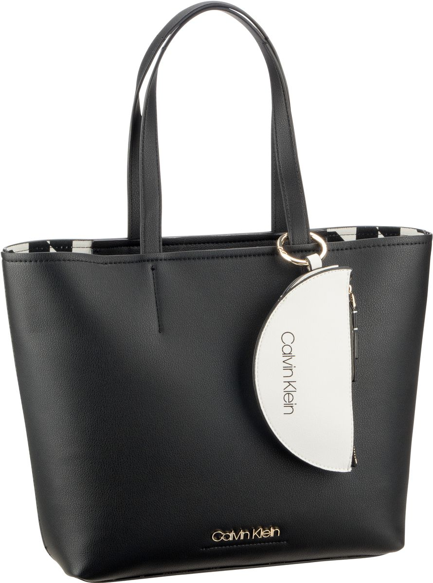 Handtasche CK Must Medium Shopper K6050 Black