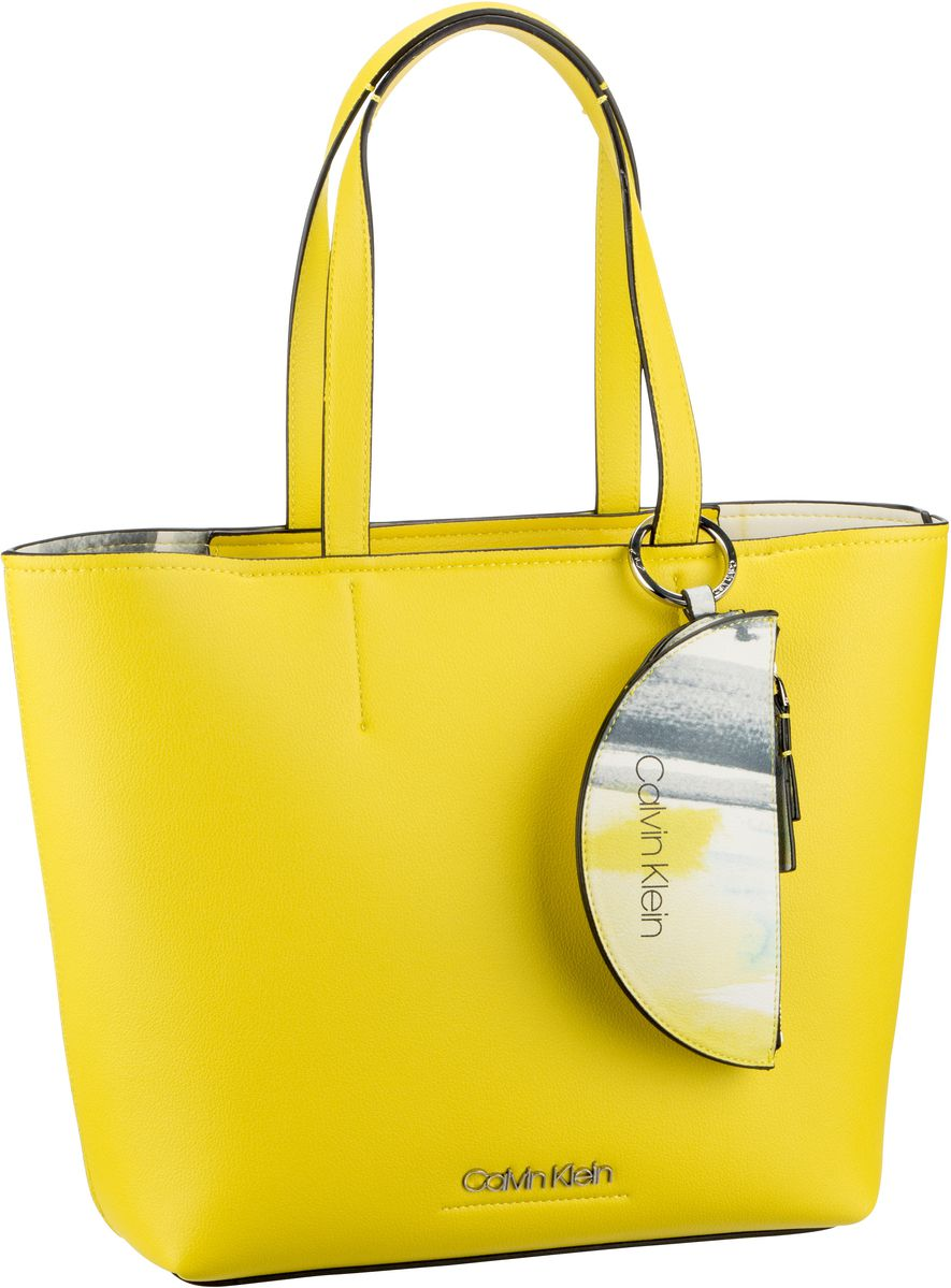 Handtasche CK Must Medium Shopper K6050 Lime