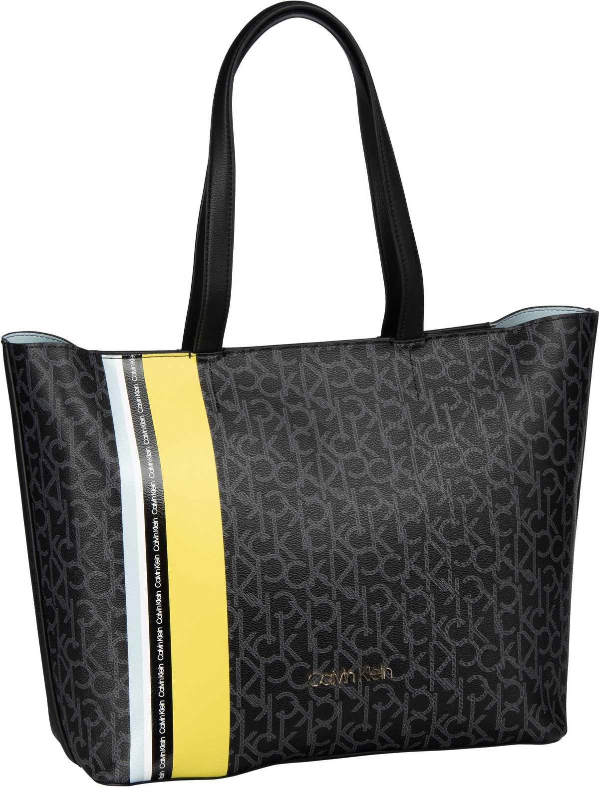 Shopper Monogram EW Shopper Black Mono/Lime