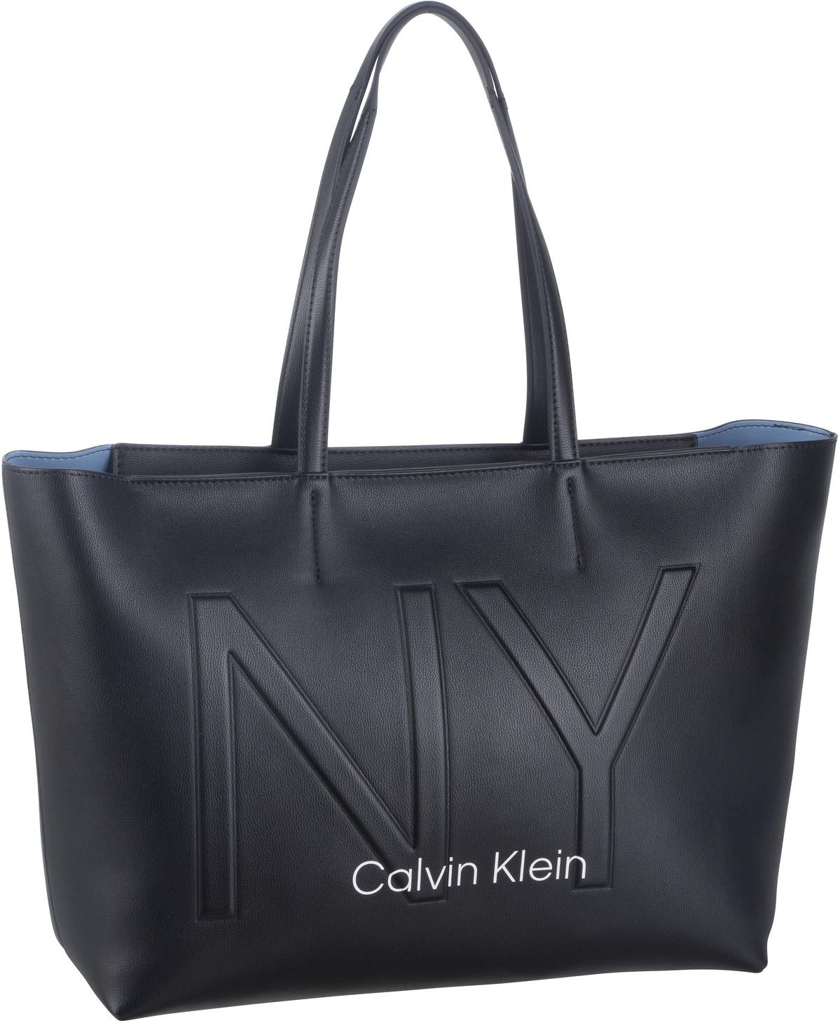 Handtasche CK Must PSP20 Medium Shopper NY Black
