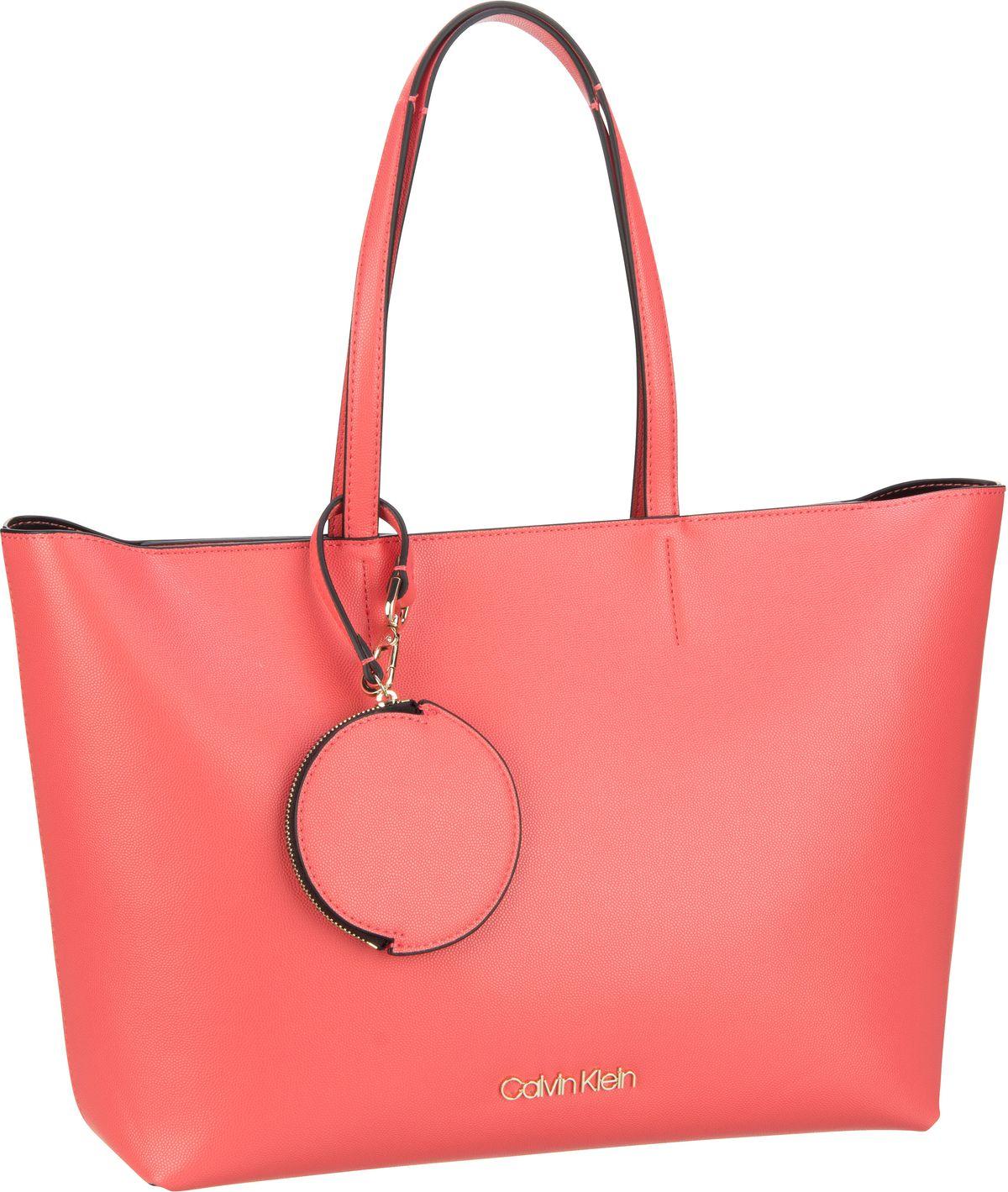 calvin klein -  Handtasche CK Must Shopper MD SP20 Coral