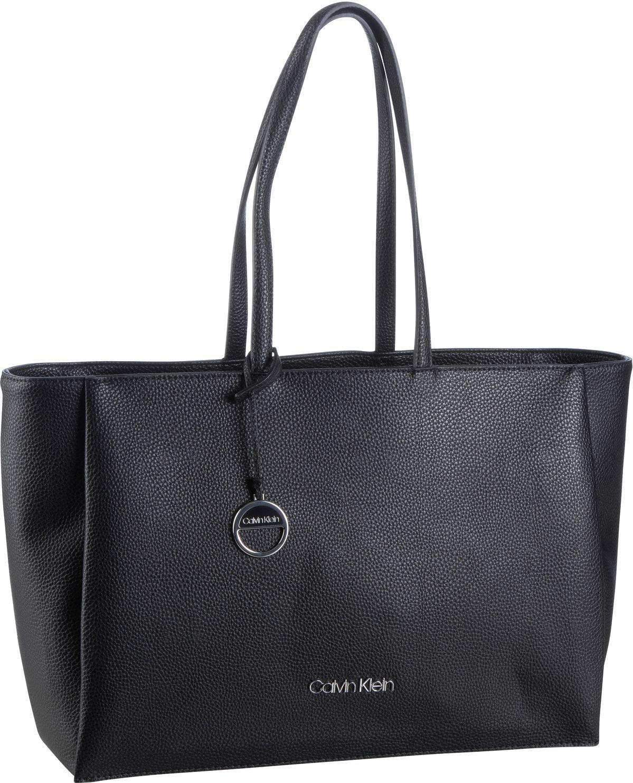 Handtasche Sided Shopper W/ Laptop Sleeve SP20 Black