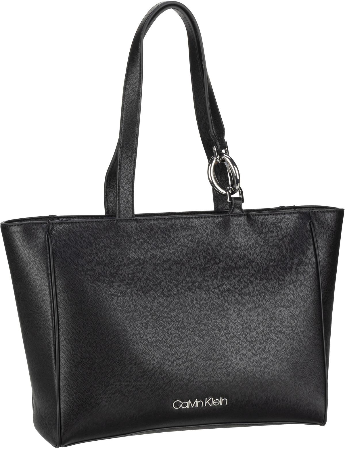 Handtasche CK Chain Shopper PF20 Black