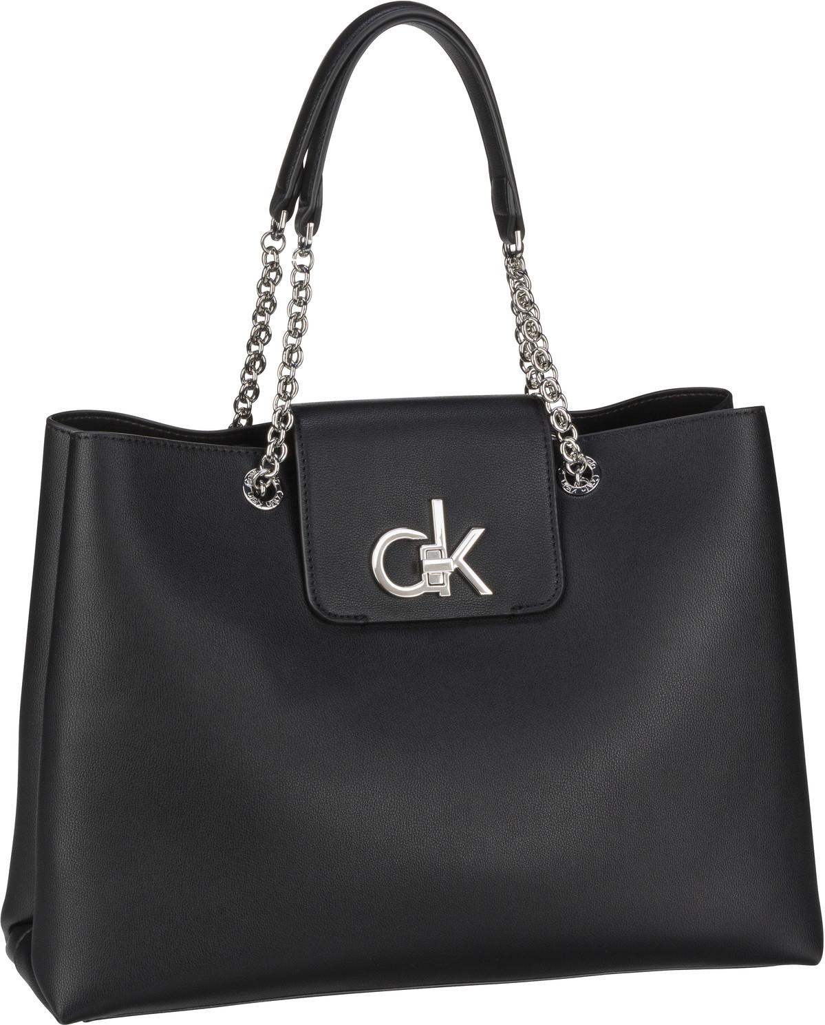 Handtasche Re-Lock Tote PF20 Black