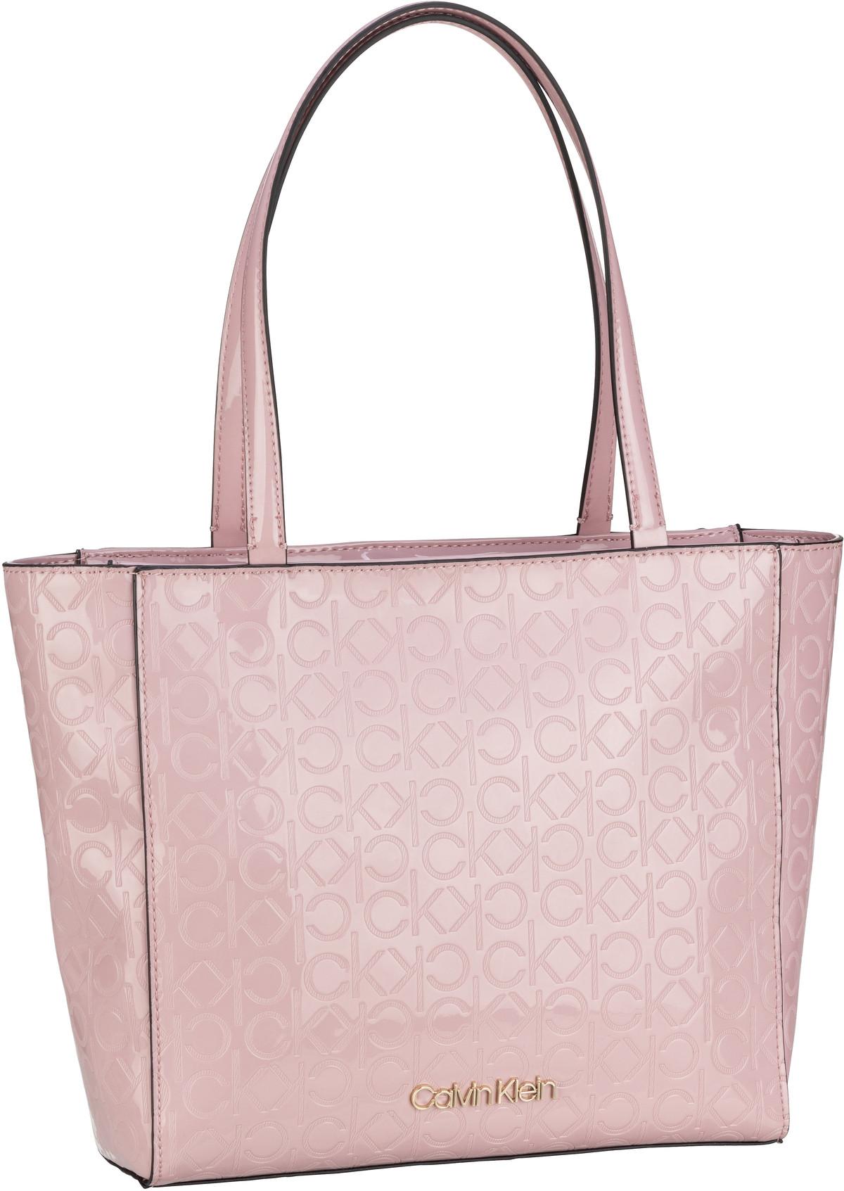 Handtasche CK Must EM Shopper SM PF20 Silver Pink