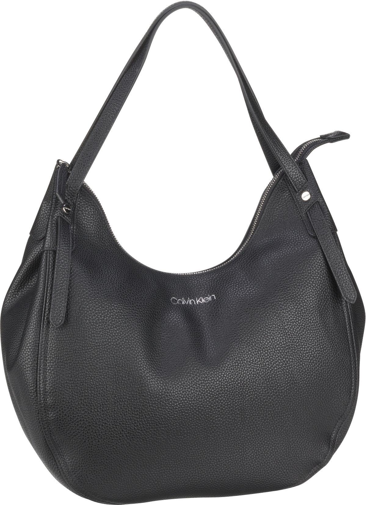 Handtasche CK Everyday Hobo MD PF20 Black