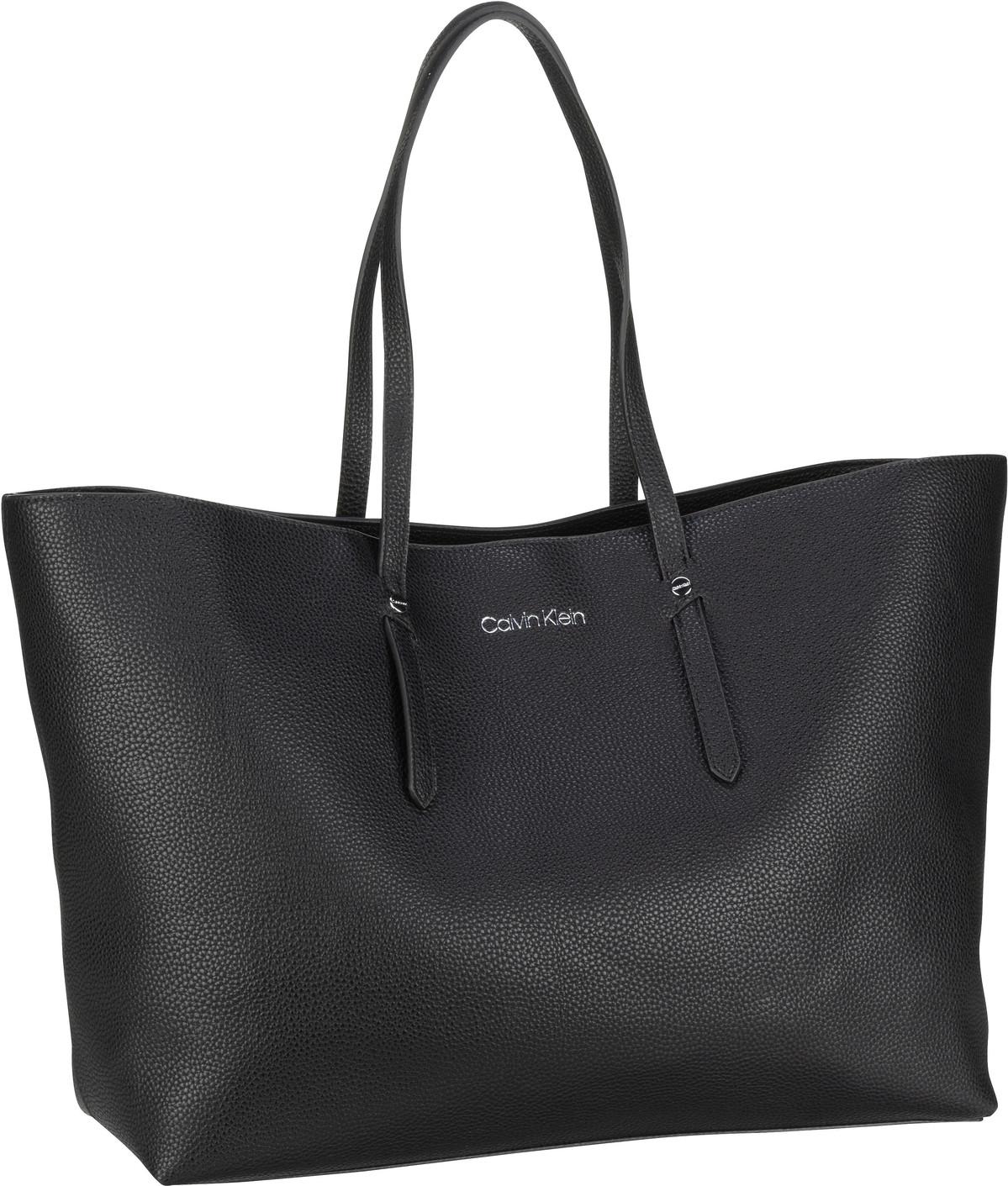 Handtasche CK Everyday EW Shopper Open LG PF20 Black