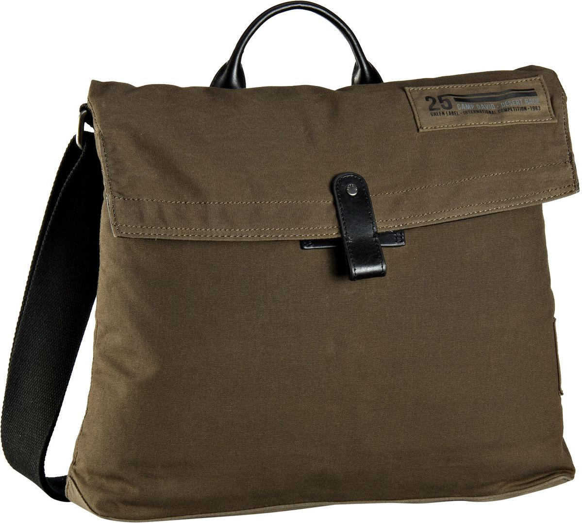 Camp David Mount Logan 40007 Umhängetasche Khaki - Notebooktasche / Tablet