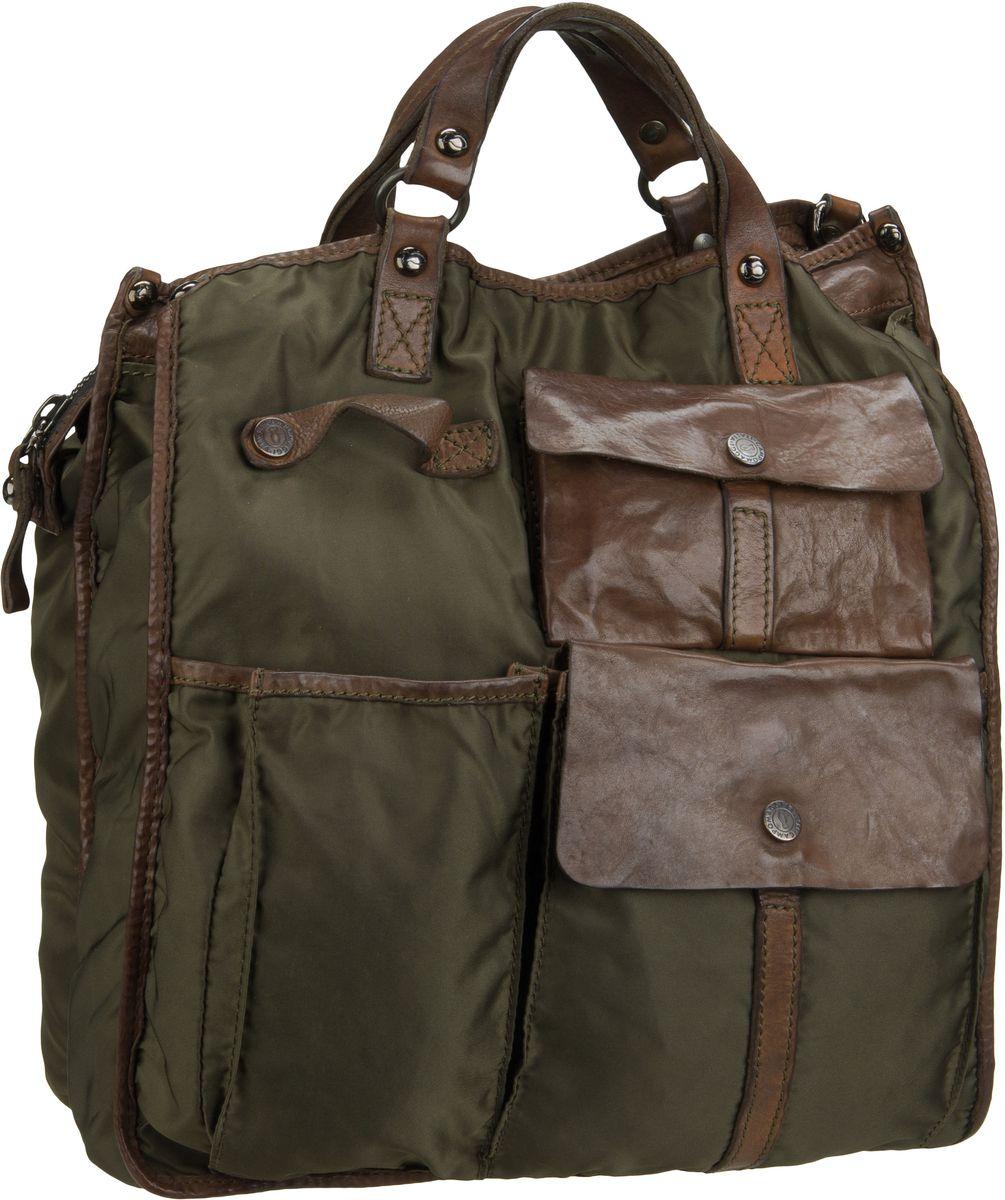 Handtasche Eucalipto C4924 Militare Tinto