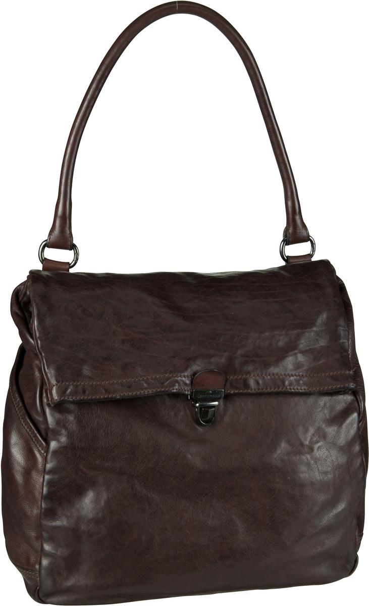 Handtaschen für Frauen - Campomaggi Geranio C6150 Moro Handtasche  - Onlineshop Taschenkaufhaus