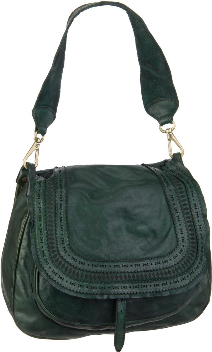 Handtasche Corallo C6050 Verde Bottiglia