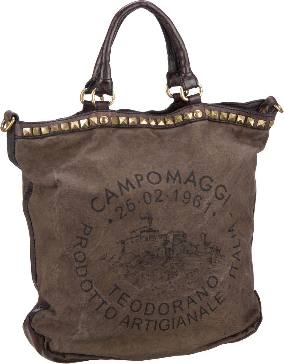Shopper Smeraldo C1007 Militare/Grigio/Stampa Nero