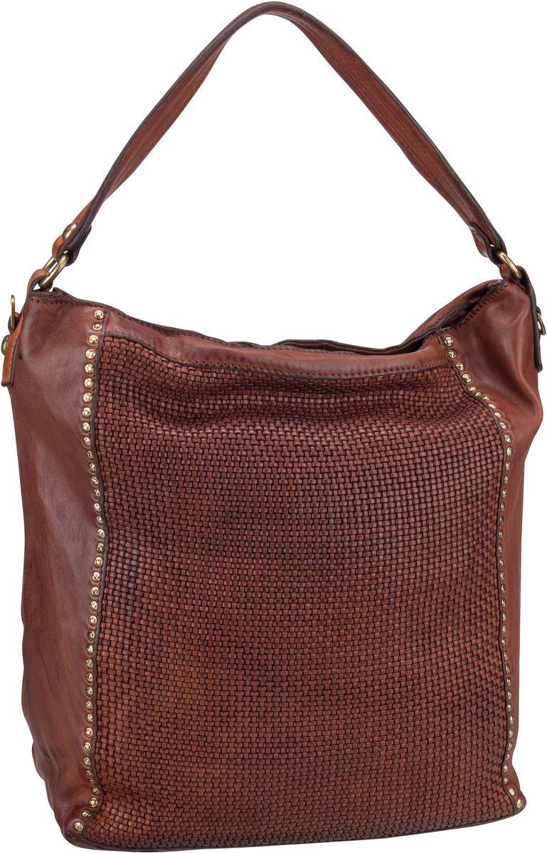 Handtasche Edera C8650 Cognac
