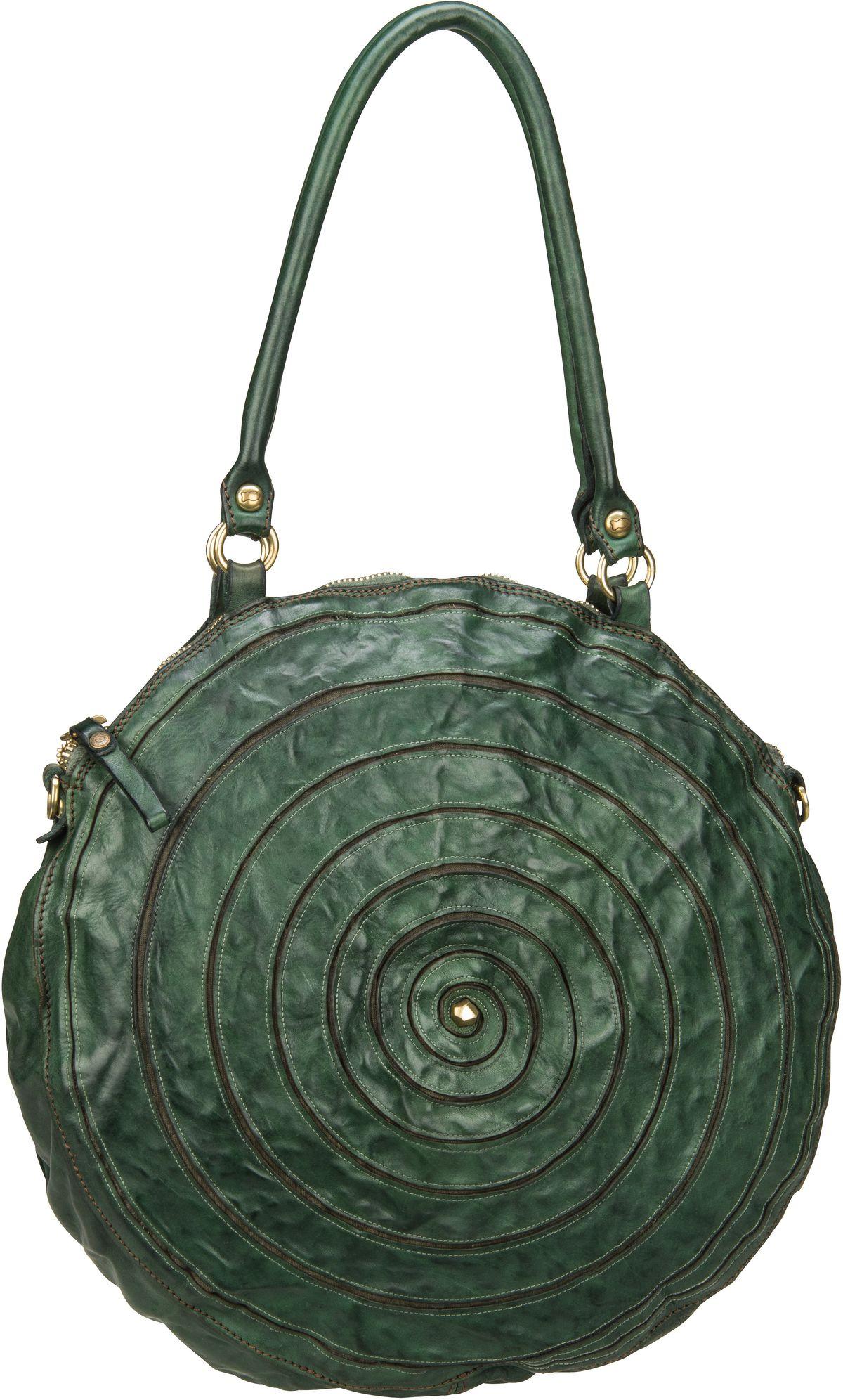 Handtasche Atena C16520 Verde Bottiglia