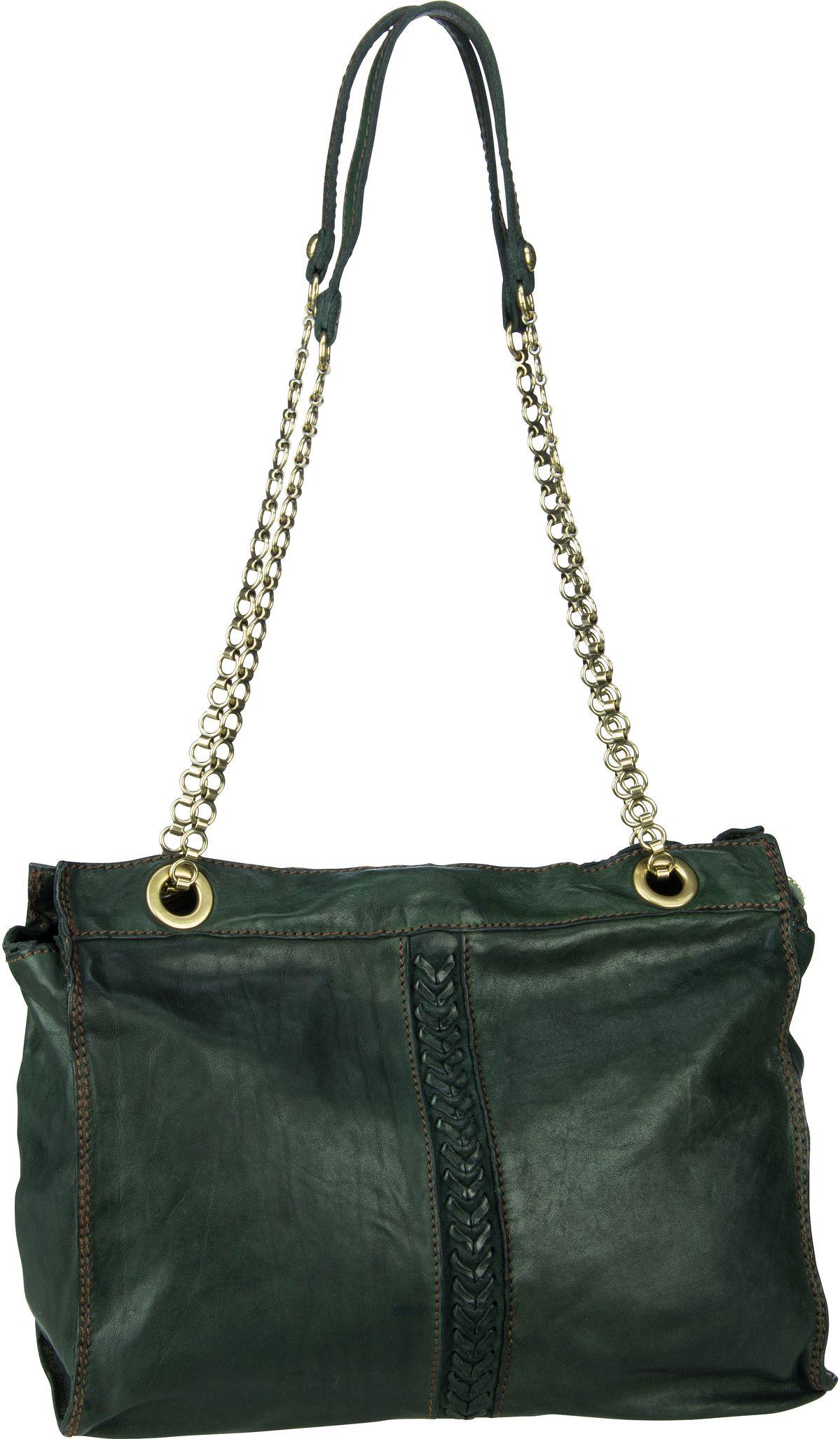 Handtasche Afrodite C16640 Verde Bottiglia