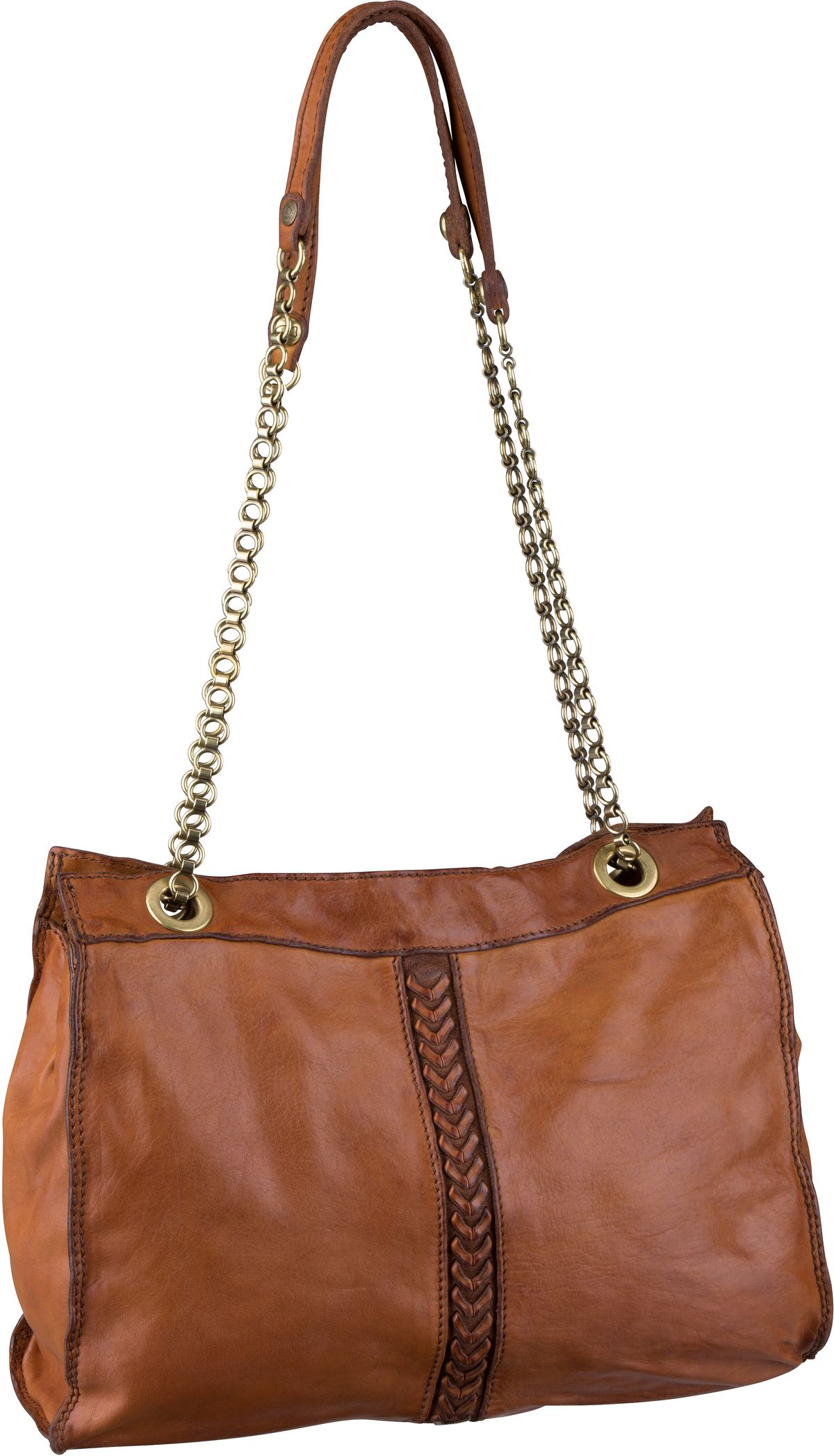 Handtasche Afrodite C16640 Cognac