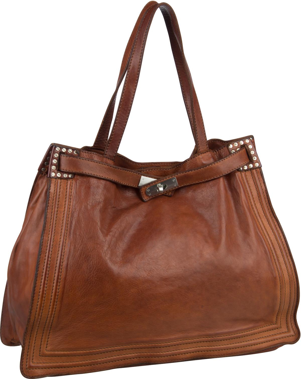 Shopper für Frauen - Campomaggi Shopper Urania C17120 Cognac  - Onlineshop Taschenkaufhaus