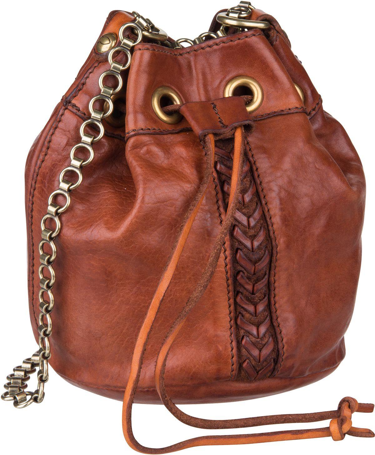 Handtasche Afrodite C17140 Cognac