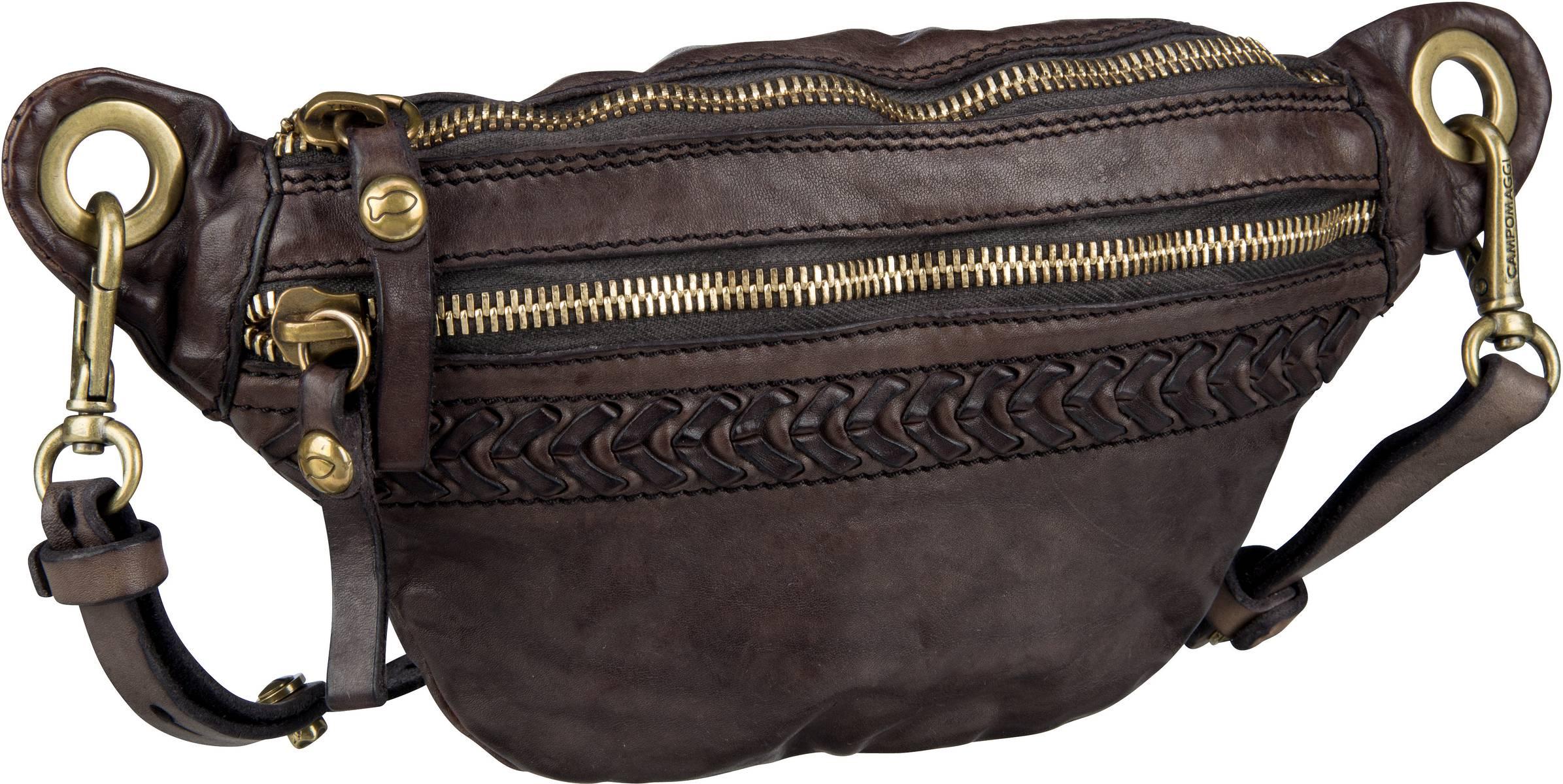 Kleinwaren für Frauen - Campomaggi Gürteltasche Afrodite C17230 Grigio  - Onlineshop Taschenkaufhaus