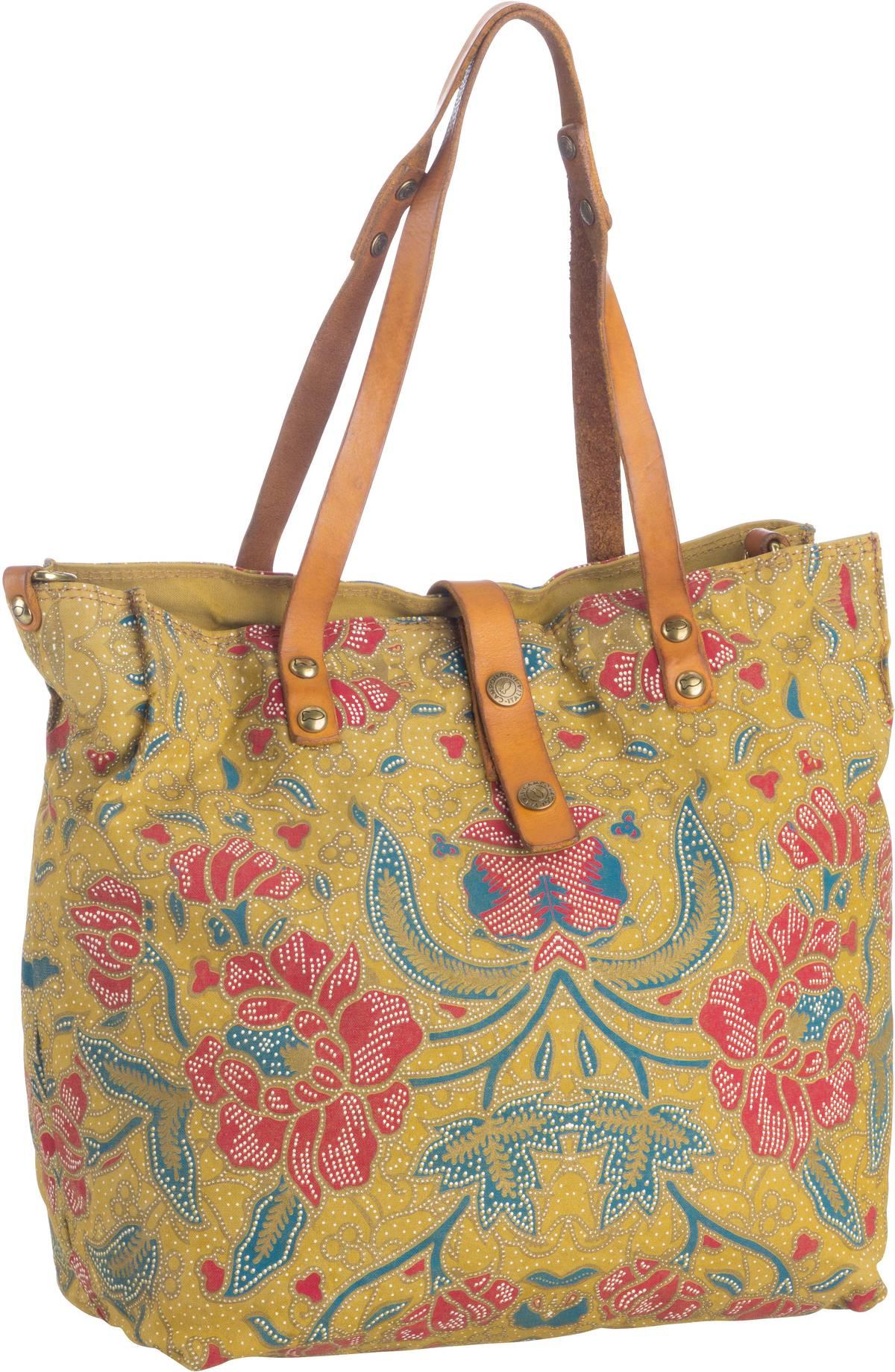 Handtasche Tropea C1671 Beige/Giallo