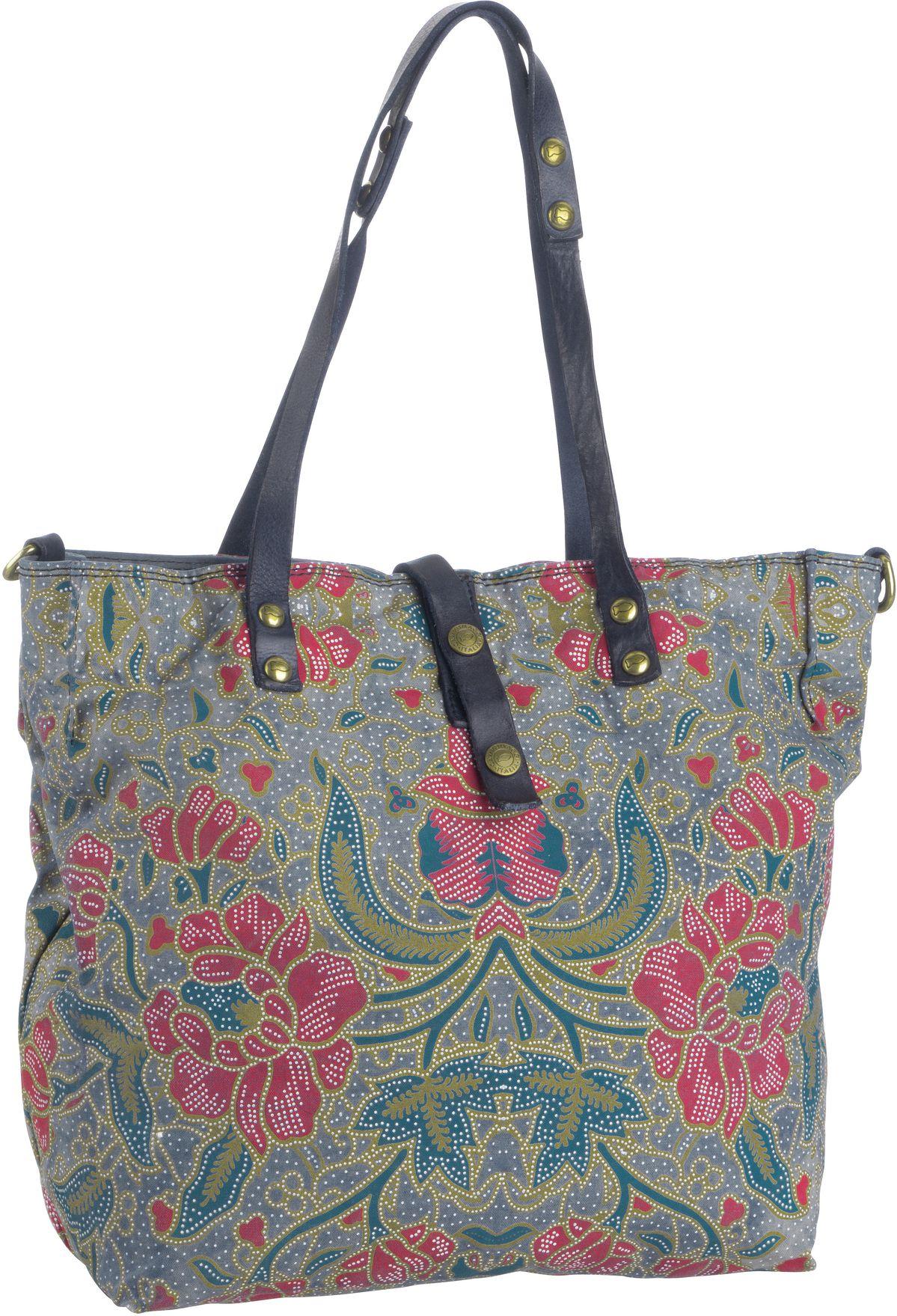 Handtasche Tropea C1671 Beige/Blu