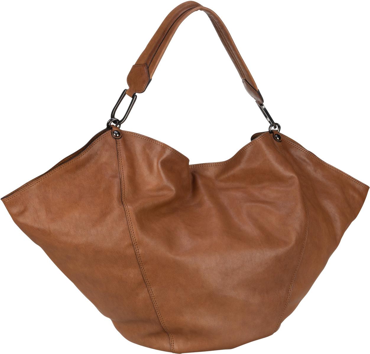 Handtasche Cachemere Anna L C22591 Tabacco