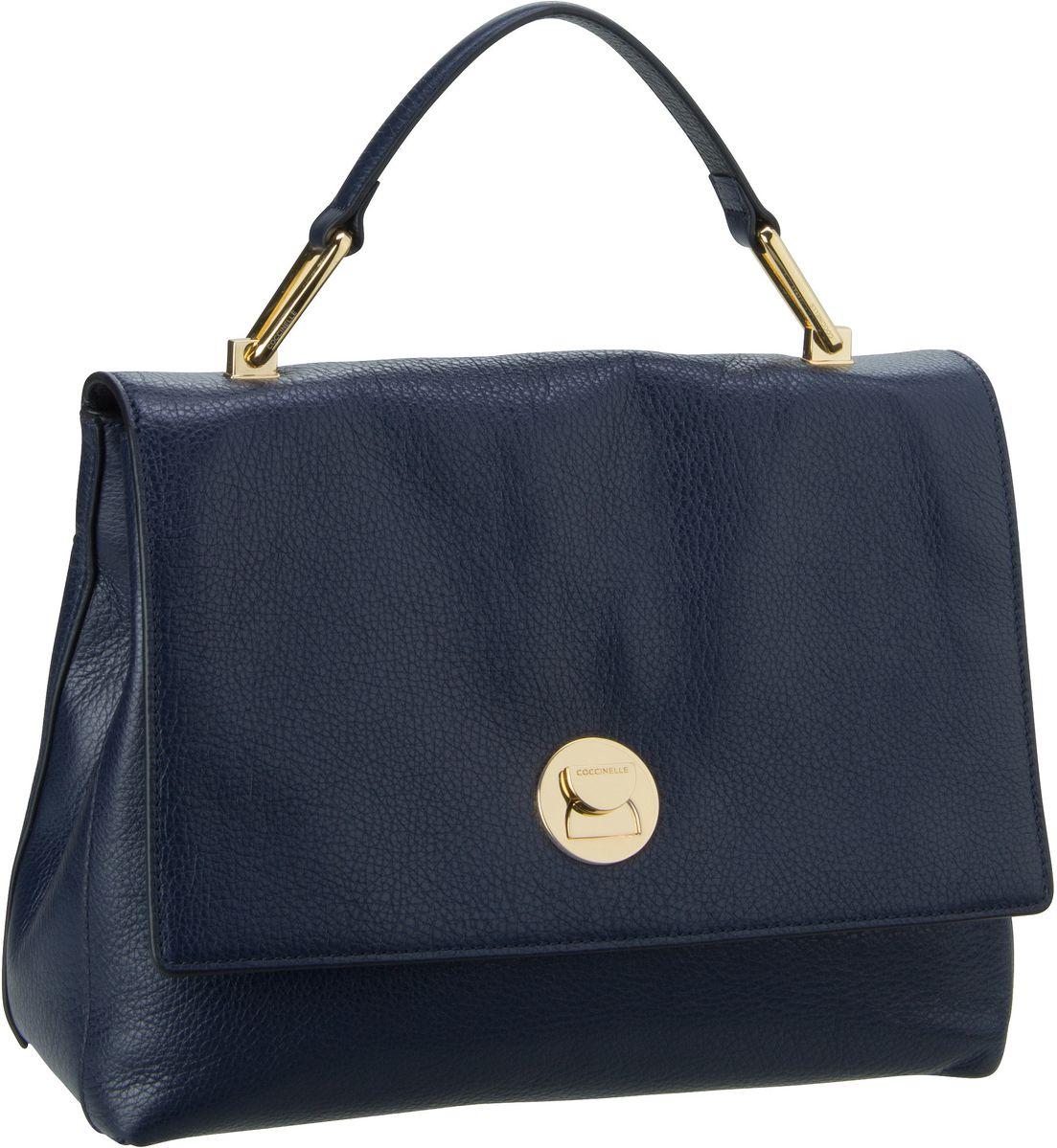 Handtasche Liya 1801 Bleu/Noir (innen: Schwarz)